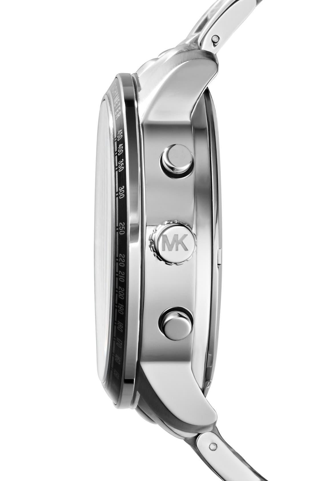 Alternate Image 3  - Michael Kors 'Granger' Ana-Digi Bracelet Watch, 45mm