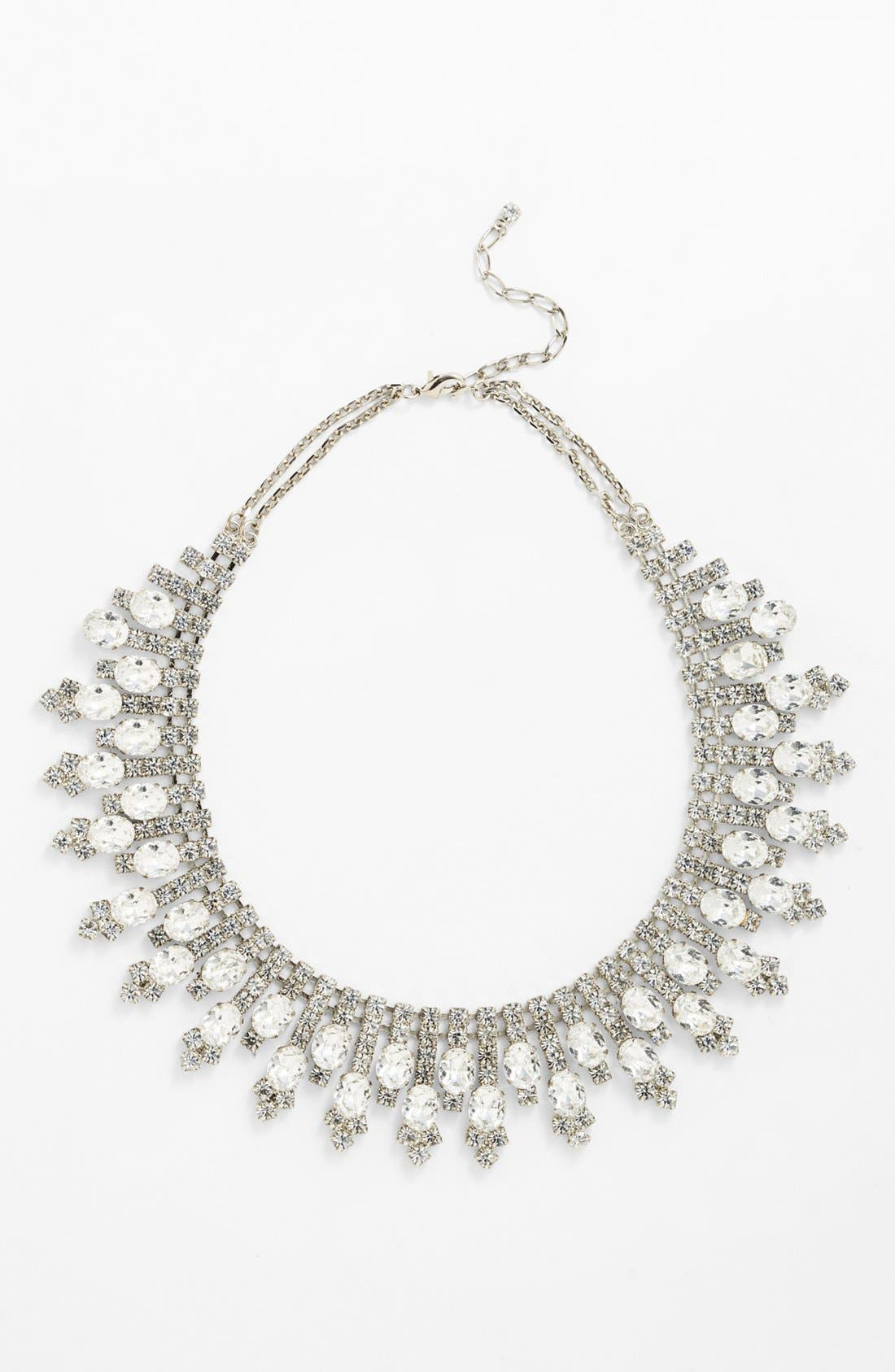 Alternate Image 1 Selected - Nordstrom 'Occasion' Spike Crystal Collar Necklace