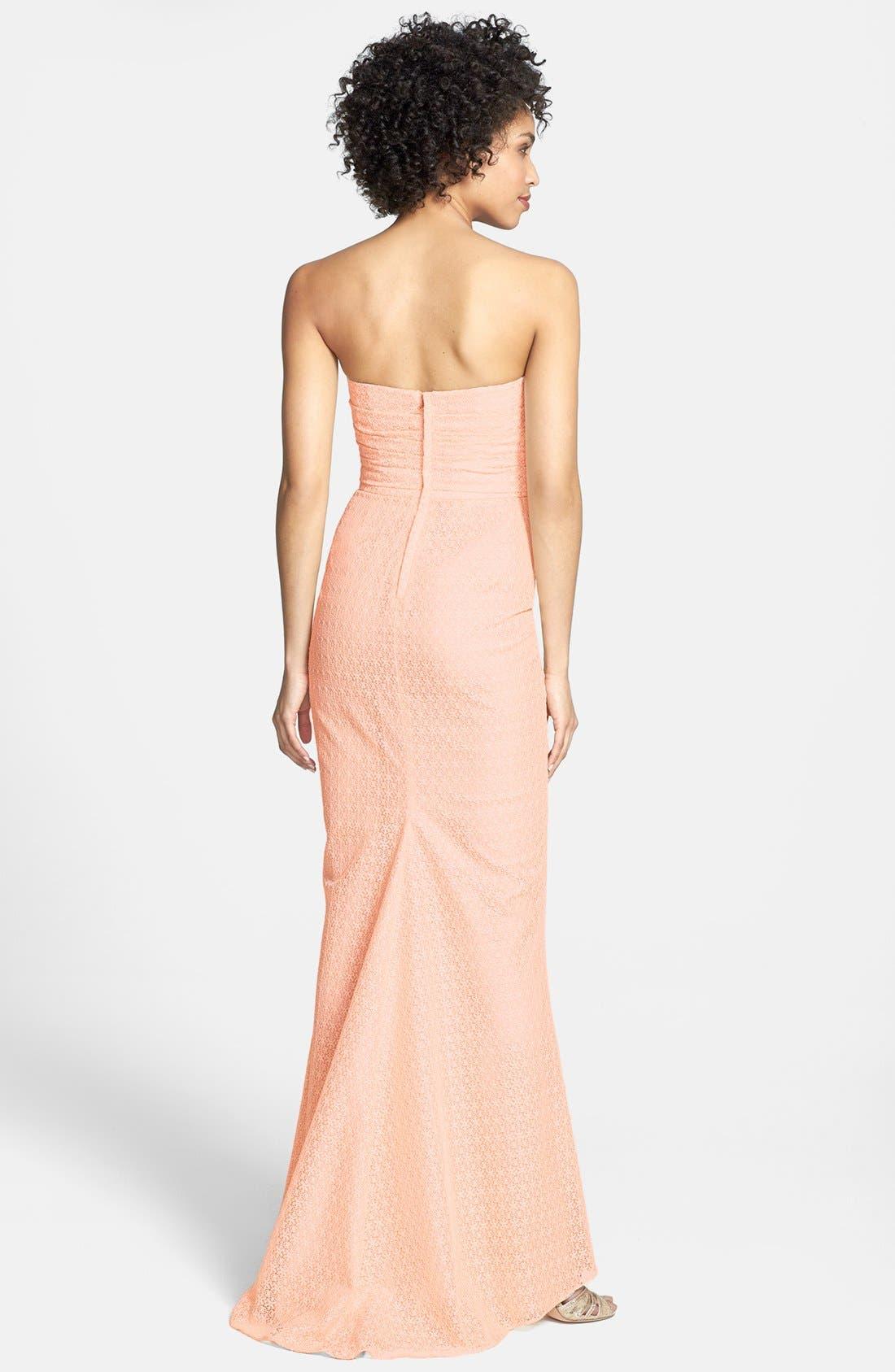 Alternate Image 2  - Jill Jill Stuart Lace Column Dress