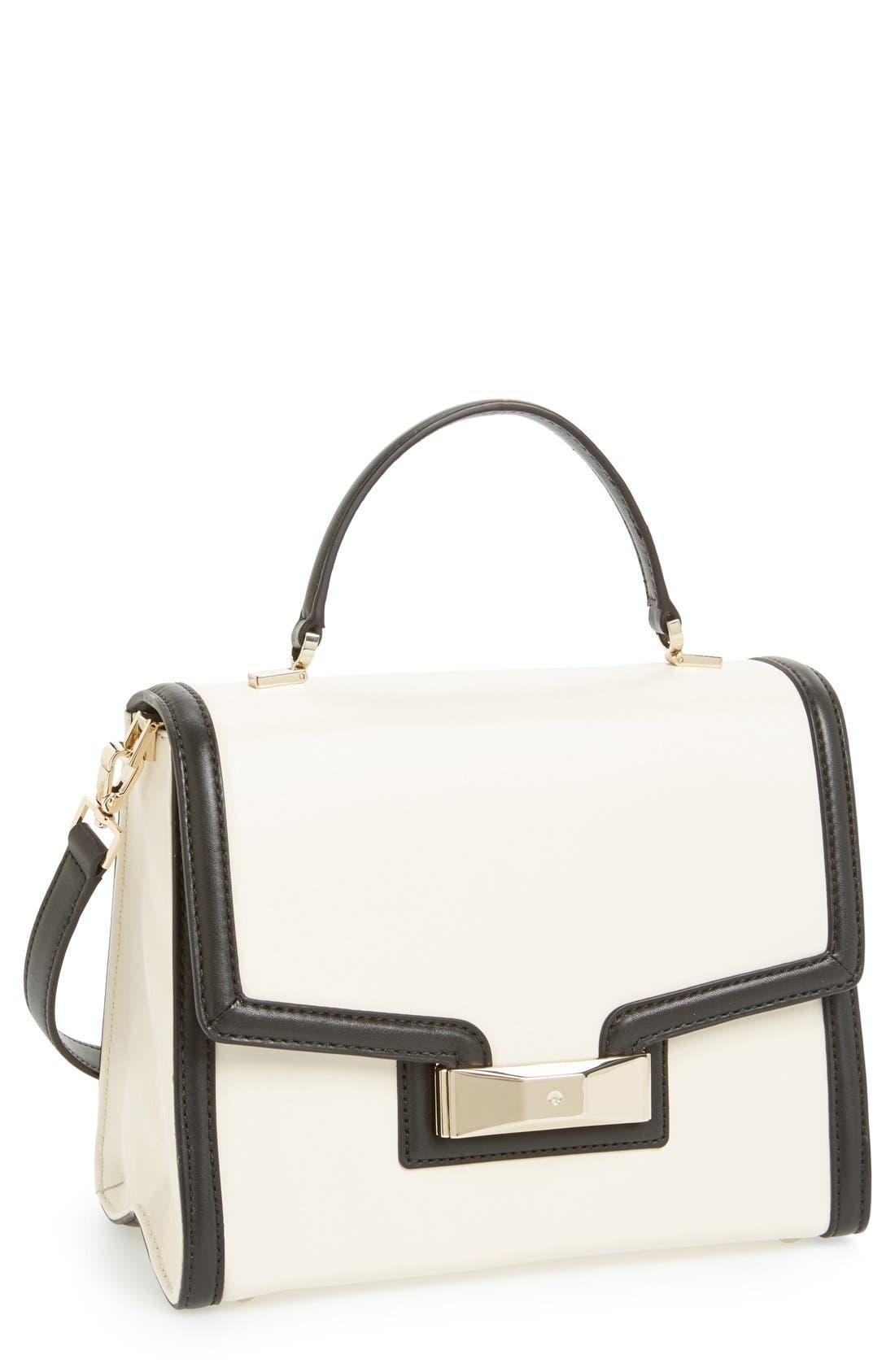 Main Image - kate spade new york 'carroll park - penelope' leather satchel