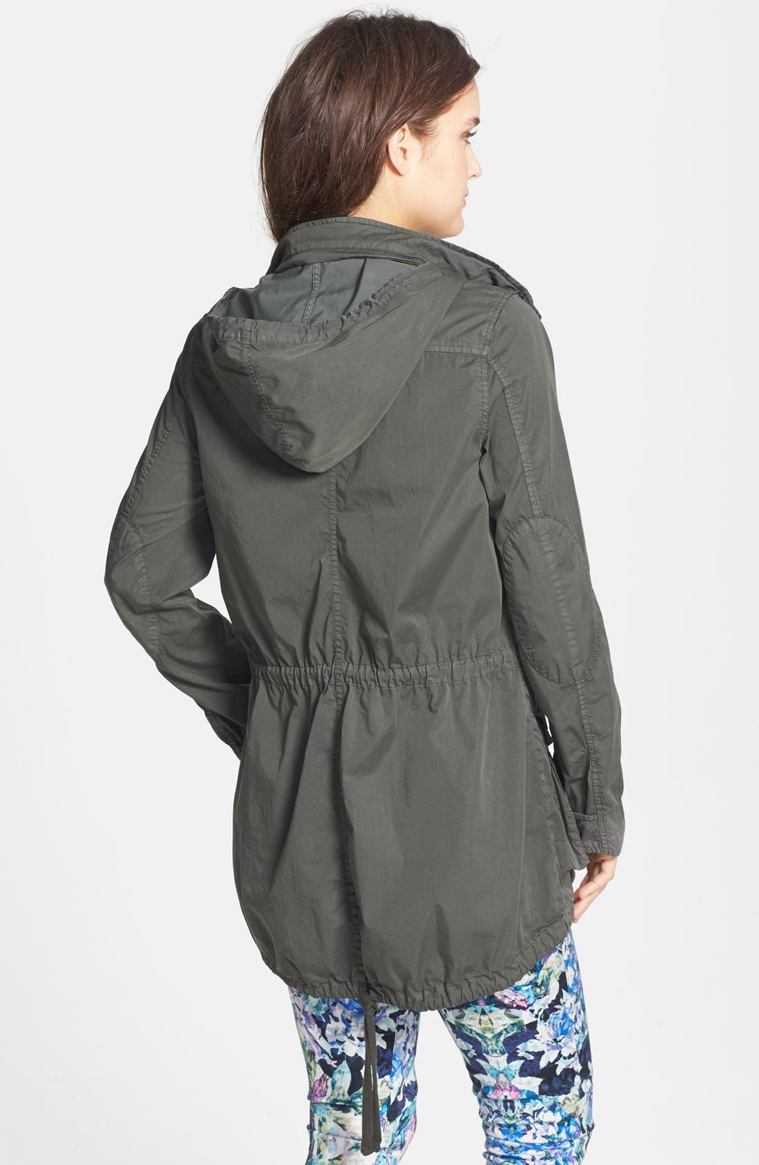 Utility Jacket,                             Alternate thumbnail 3, color,                             Forest Green