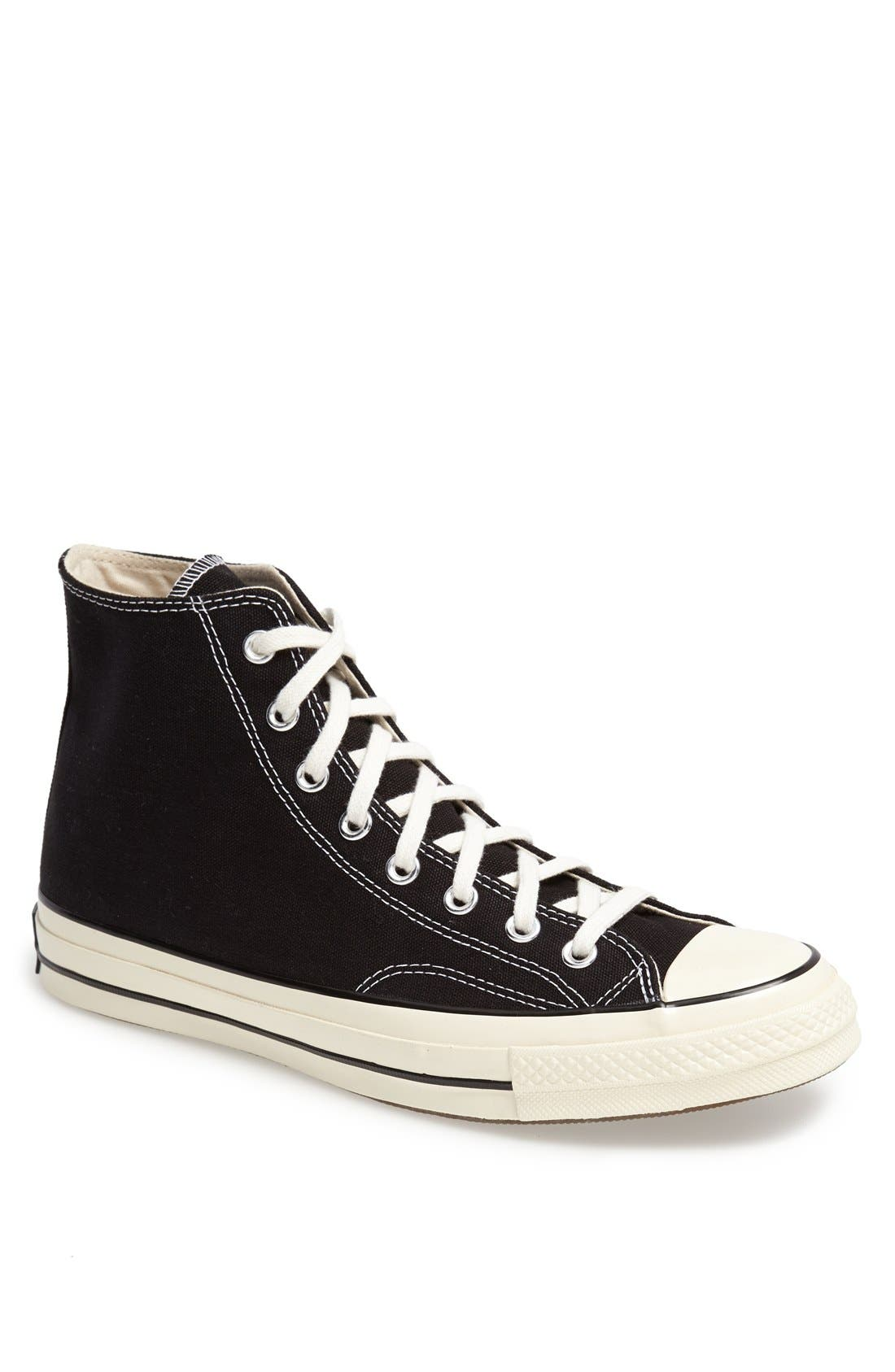 Chuck Taylor<sup>®</sup> All Star<sup>®</sup> '70 High Sneaker,                             Main thumbnail 1, color,                             Black