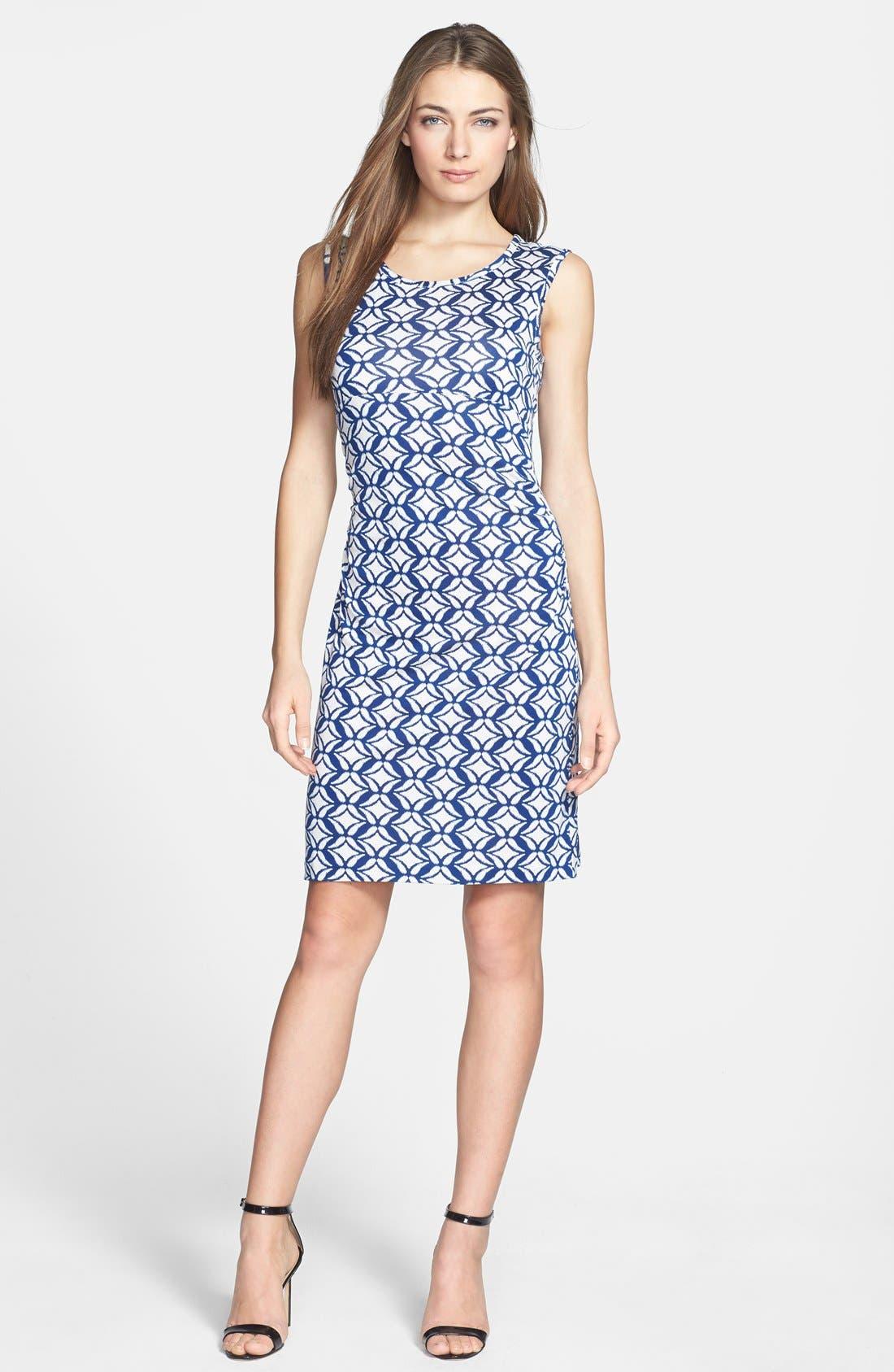 Main Image - Diane von Furstenberg 'Selene' Silk Jersey A-Line Dress