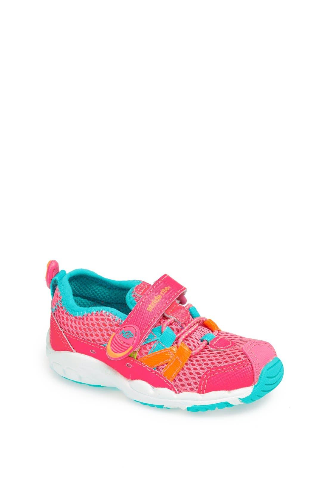 Alternate Image 1 Selected - Stride Rite 'Made 2 Play™ - Aqua' Sneaker (Baby, Walker & Toddler)