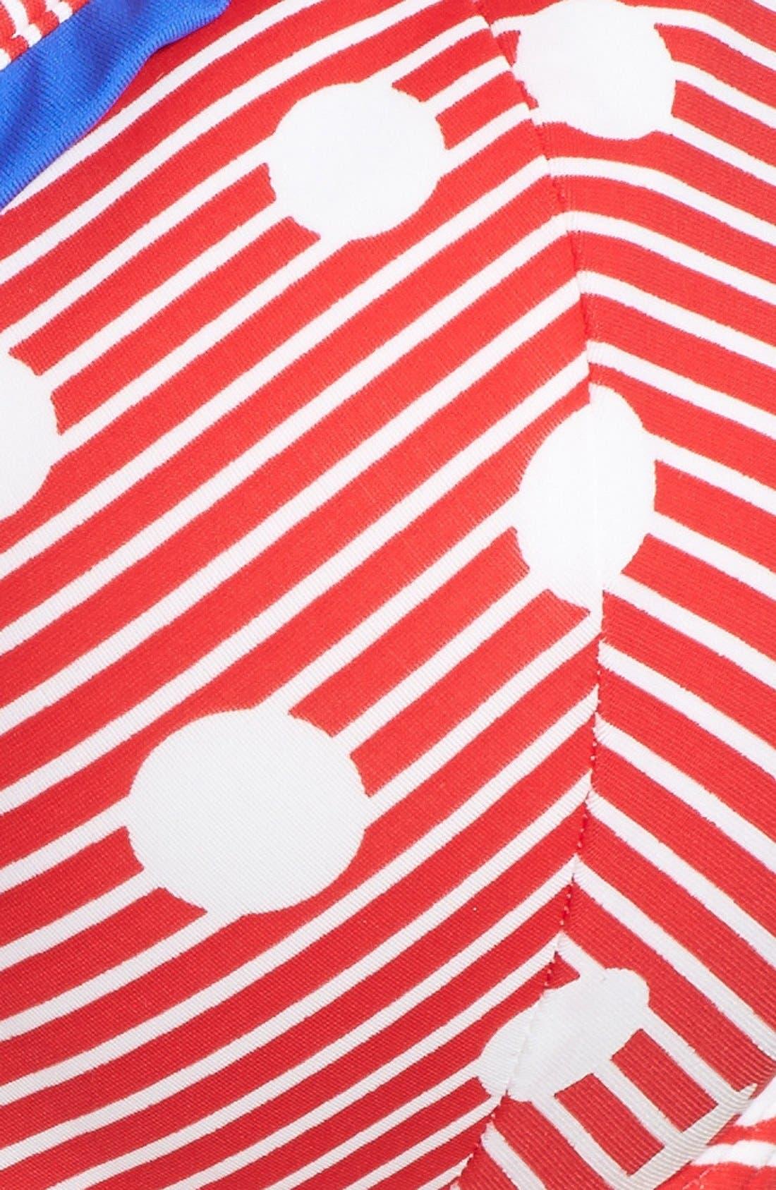 Alternate Image 5  - Freya 'Hello Sailor' Underwire Sweetheart Padded Bikini Top (DD-Cup & Up)