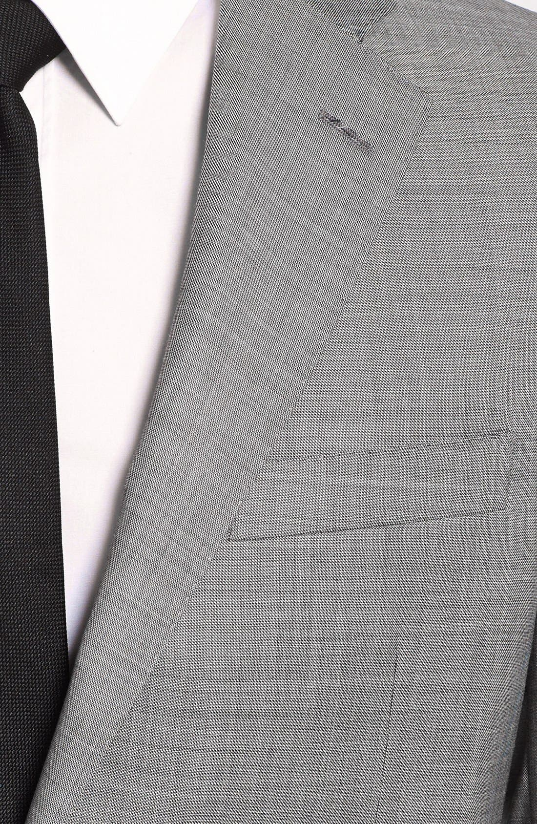 Alternate Image 5  - BEACON HIGH LOW MOHAIR 2BTN SUIT