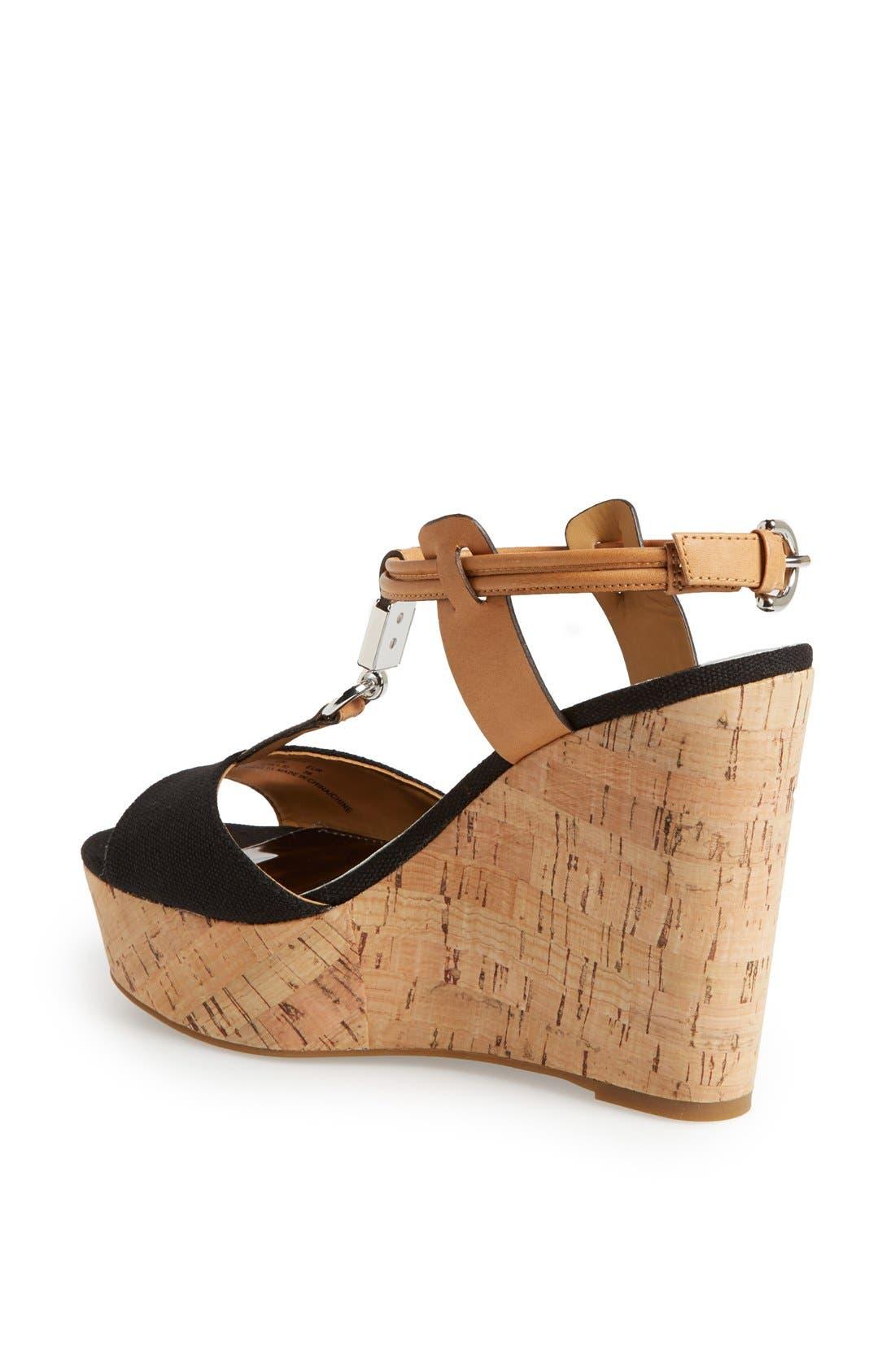 Alternate Image 2  - COACH 'Linden' Wedge Platform Sandal