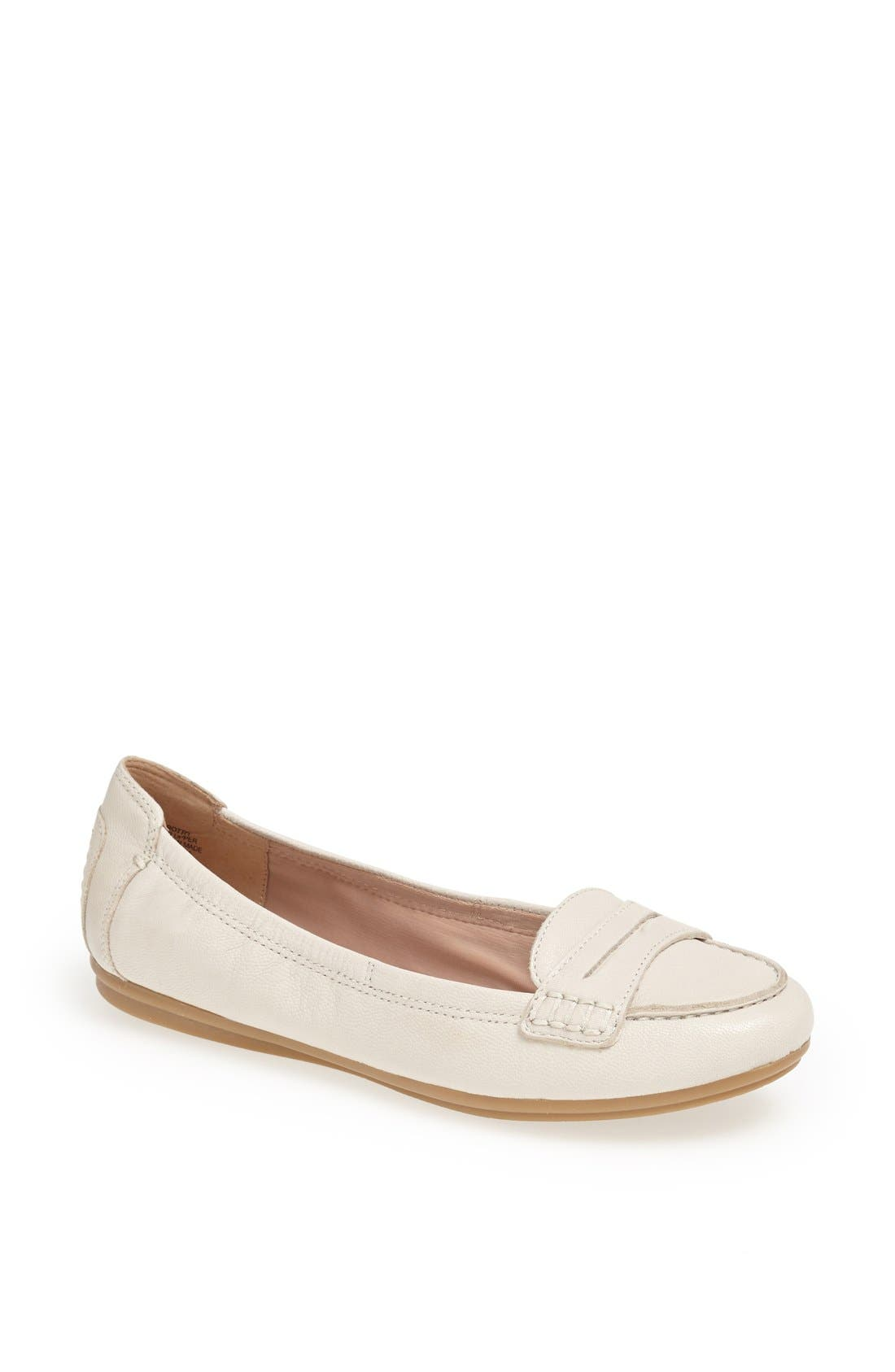 Alternate Image 1 Selected - Easy Spirit 'e360 - Grotto' Leather Penny Loafer (Women)