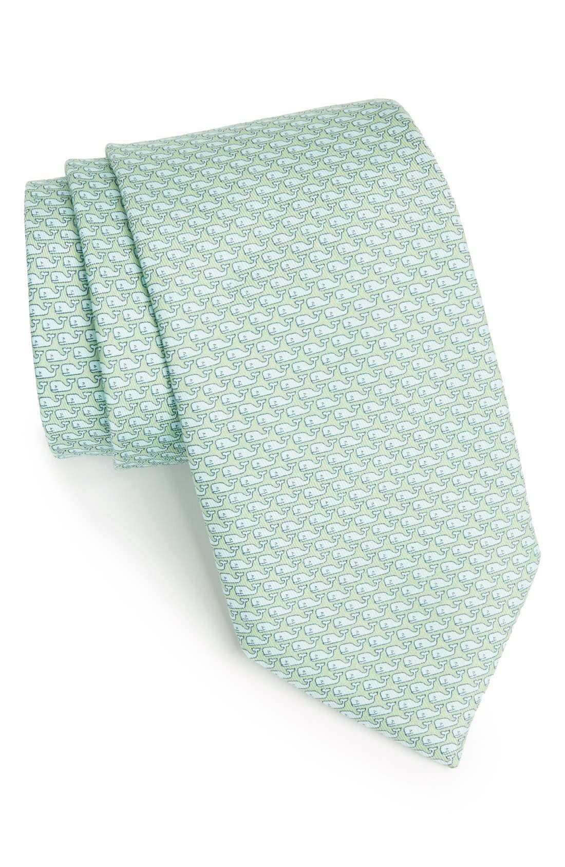 Alternate Image 1 Selected - vineyard vines Whale Silk Tie
