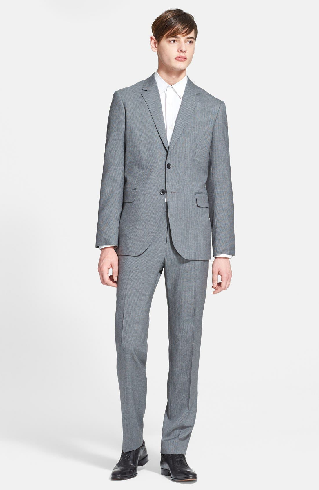 Alternate Image 1 Selected - rag & bone Pinstripe Wool Suit
