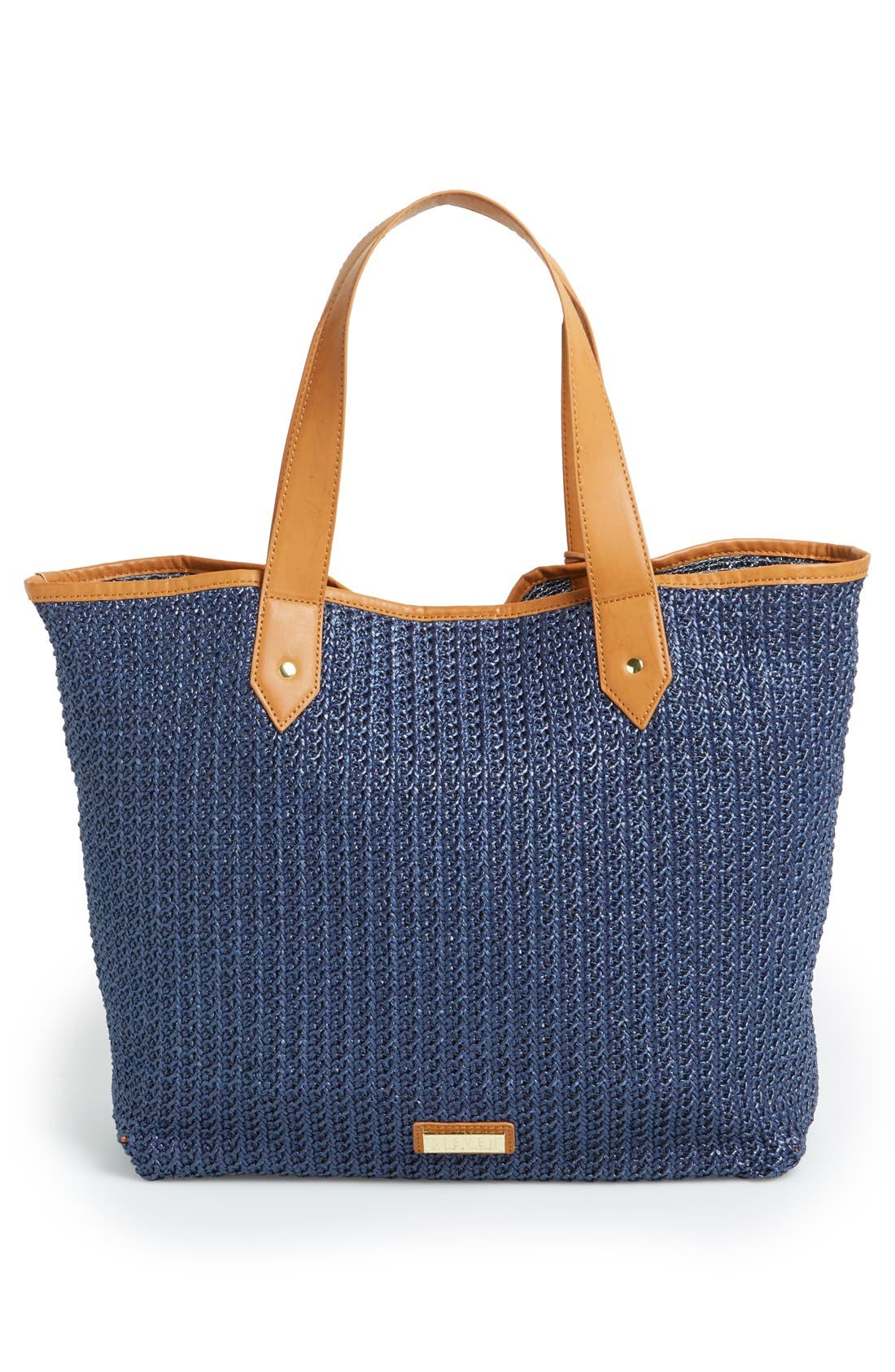 Alternate Image 4  - Steven by Steve Madden 'Bcabo' Straw Tote