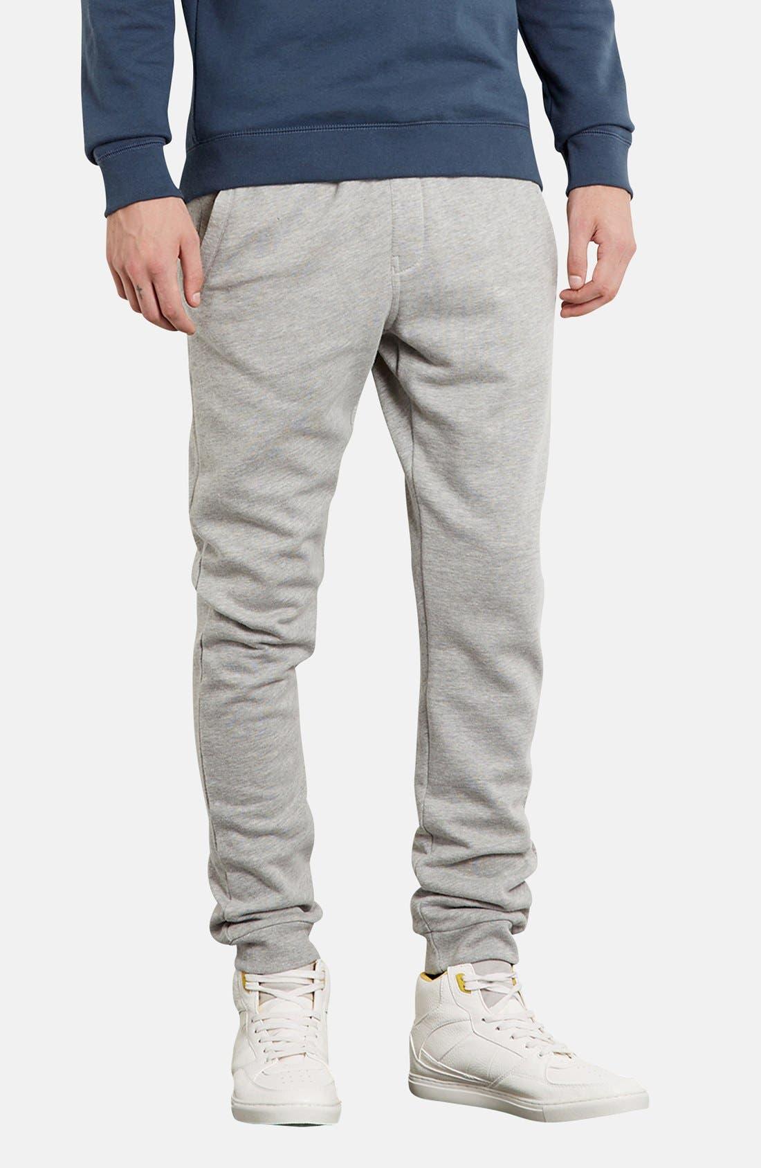 Alternate Image 1 Selected - Topman Skinny Fit Jogger Pants