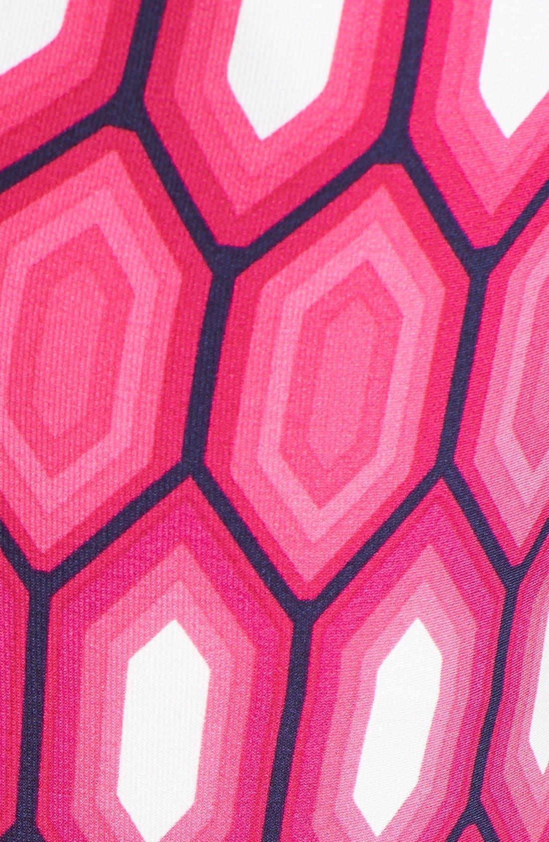 Alternate Image 3  - Laundry by Shelli Segal Print Surplice V-Neck Maxi Dress
