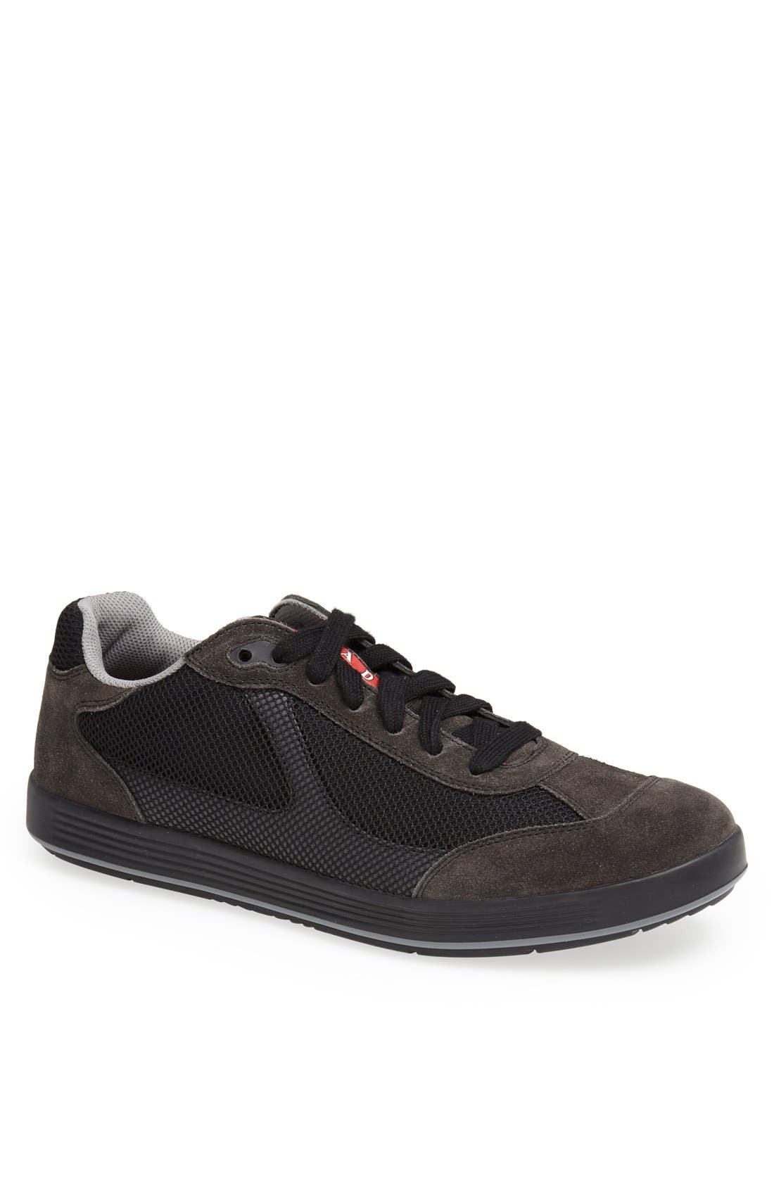 Alternate Image 1 Selected - Prada Mesh Sneaker