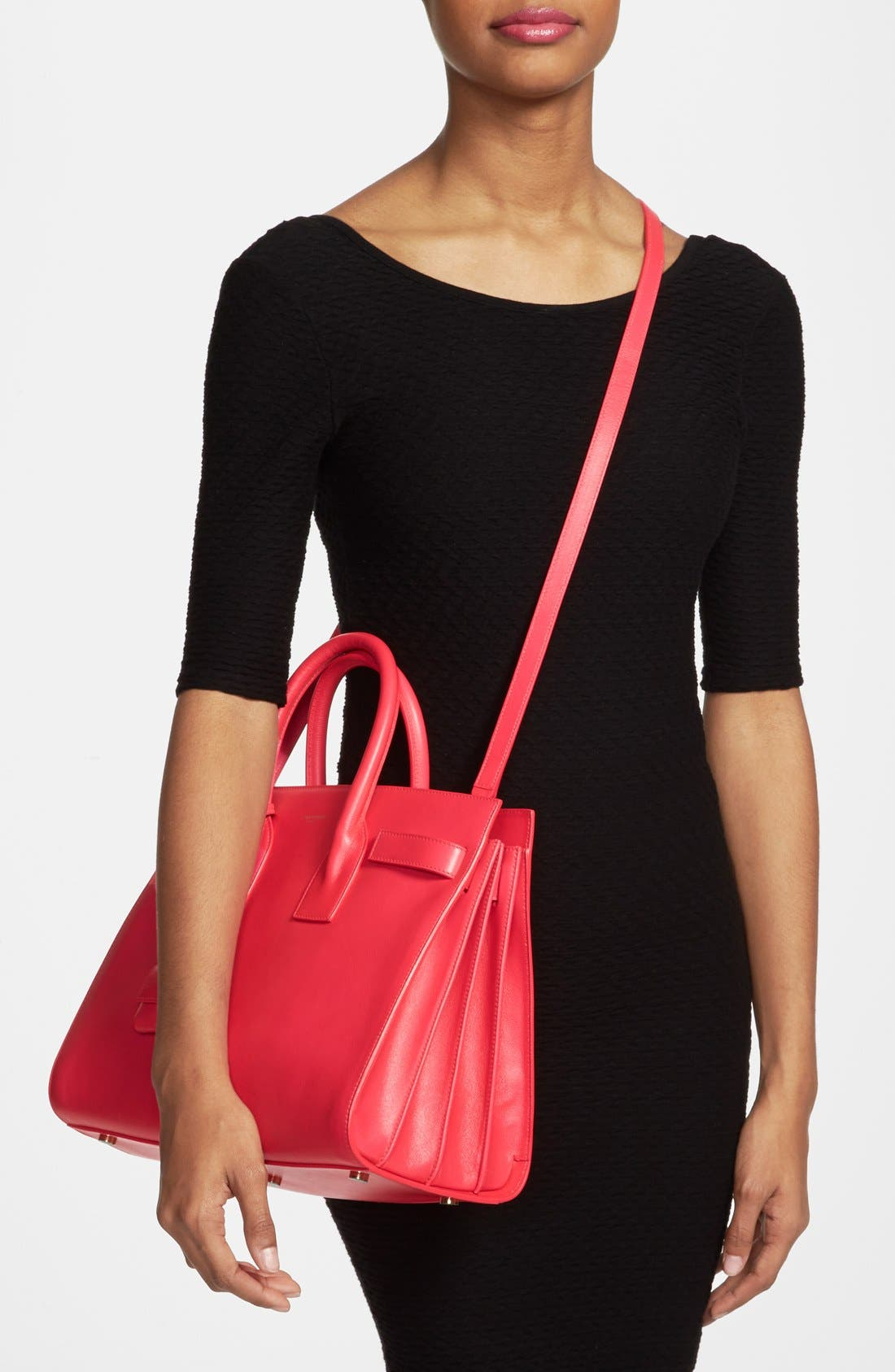Alternate Image 2  - Saint Laurent 'Small Sac de Jour' Leather Tote