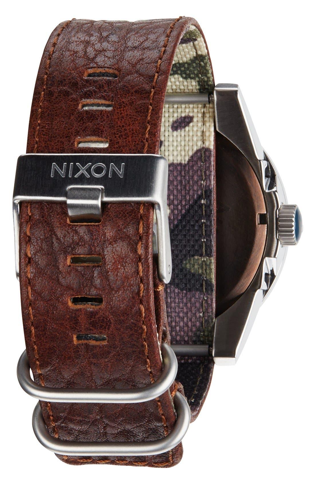 Alternate Image 2  - Nixon 'The Corporal' Watch, 48mm