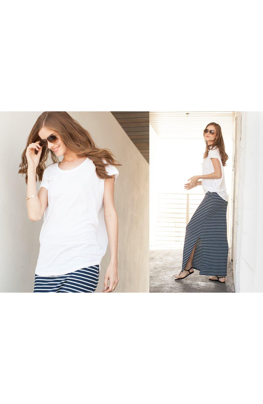 Alternate Image 4  - Splendid Stripe Maxi Skirt