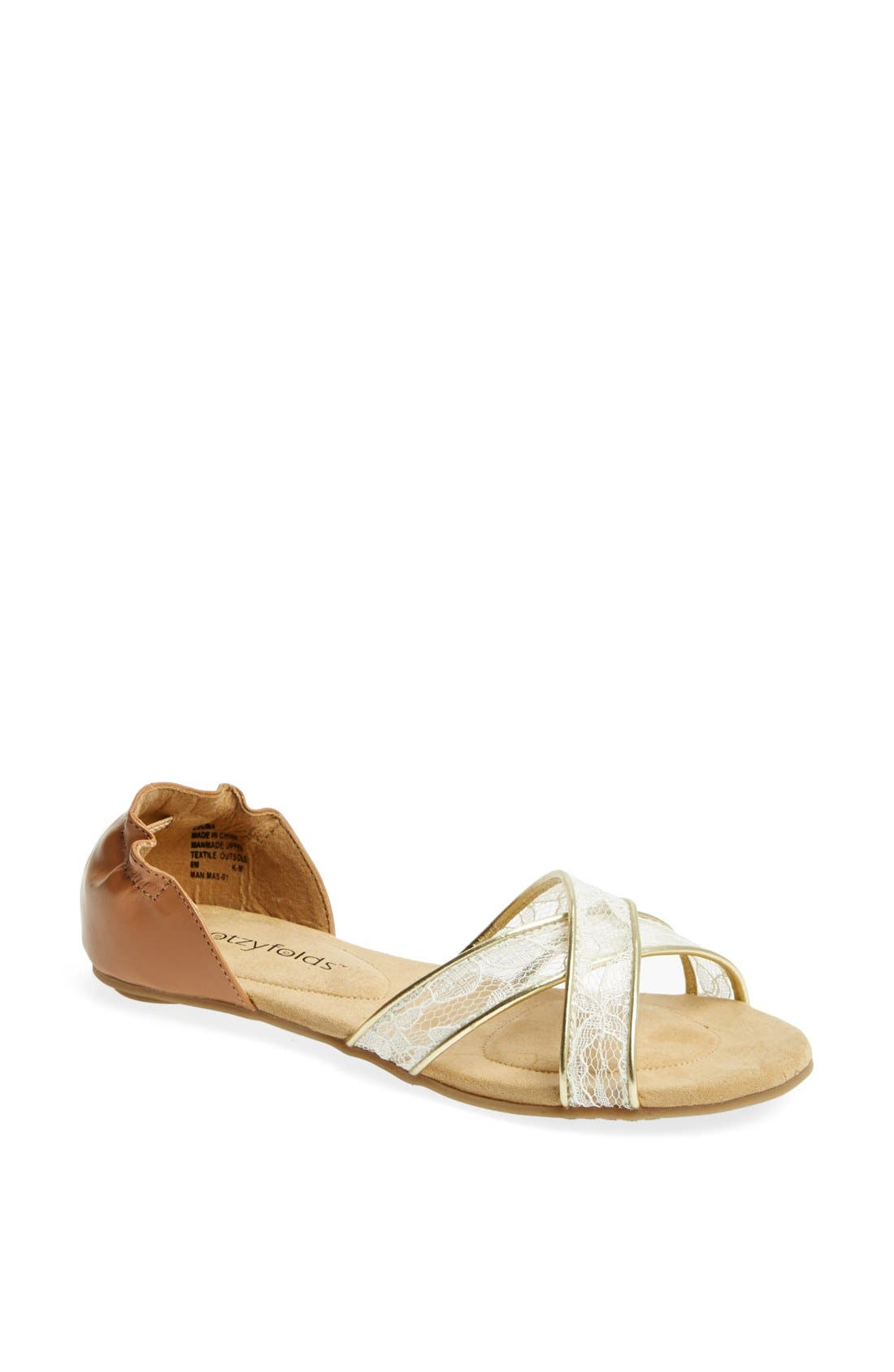 Main Image - Footzyfolds 'Celina' Flat