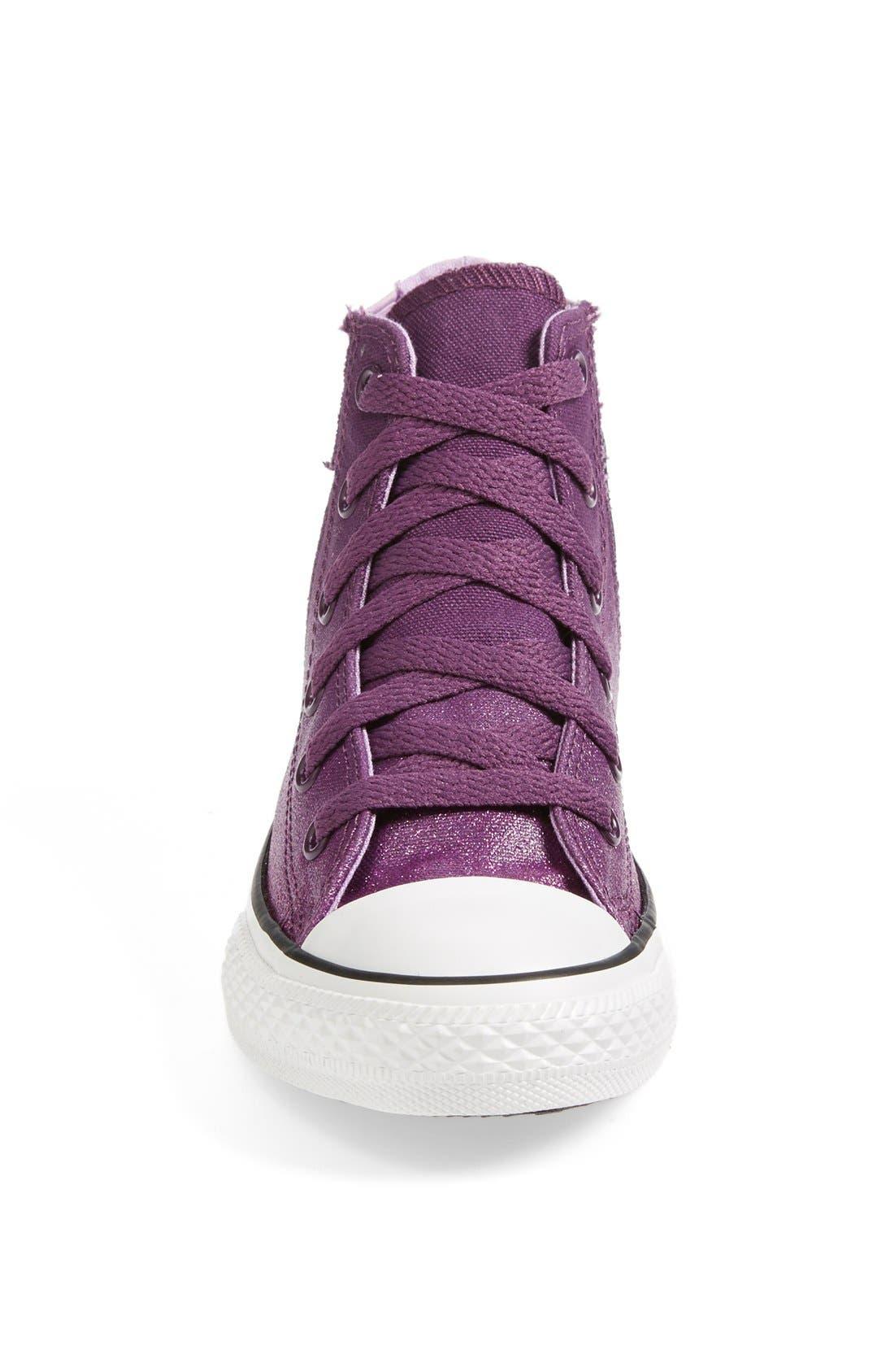 Alternate Image 3  - Converse Chuck Taylor® All Star® 'Sparkle Wash Boltz' High Top Sneaker (Toddler, Little Kid & Big Kid)