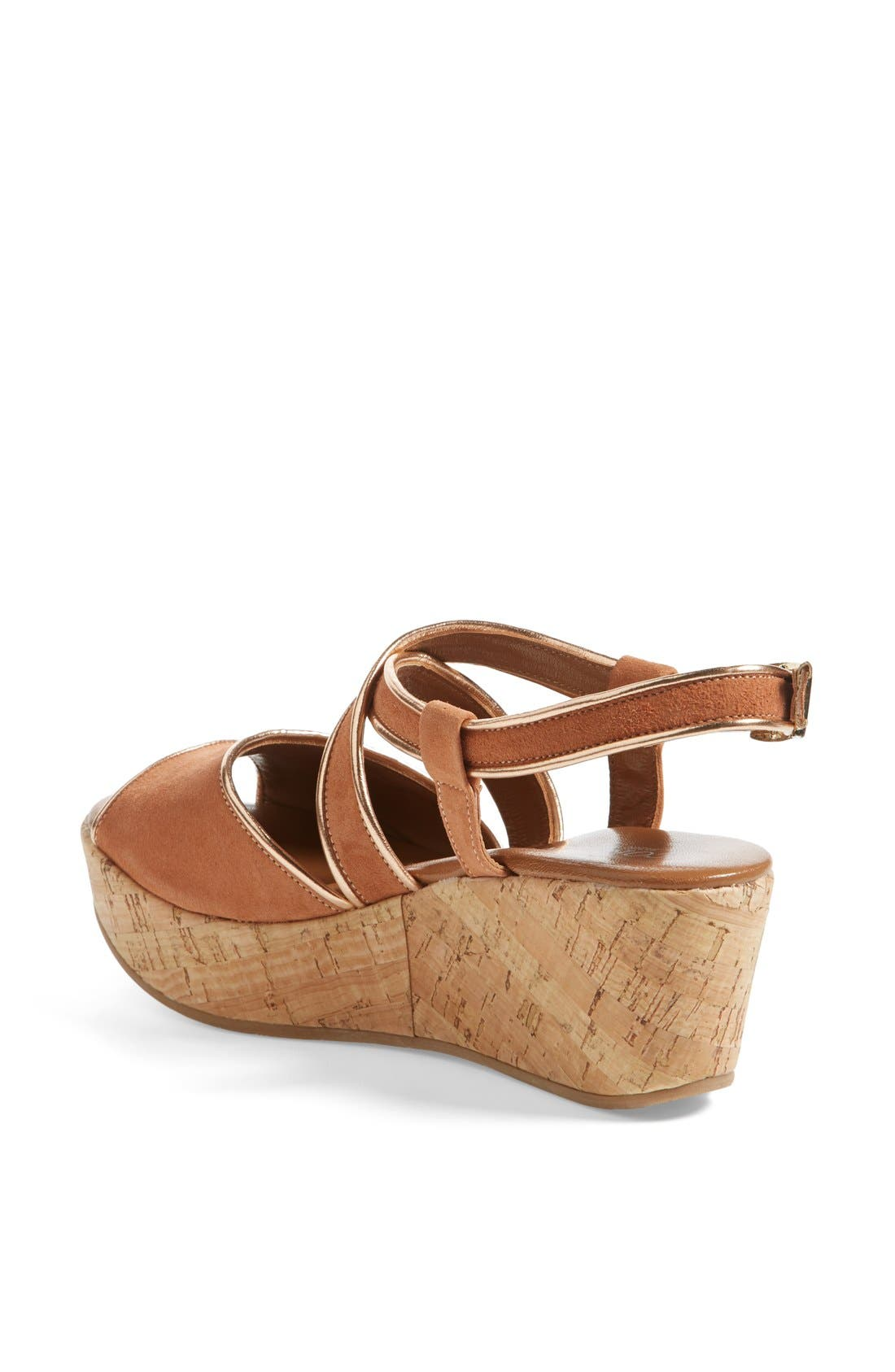 Alternate Image 2  - Cordani 'Denton' Suede Wedge Sandal