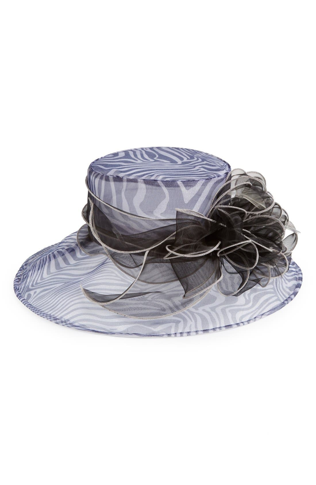Alternate Image 1 Selected - August Hat 'Olympia' Organza Hat