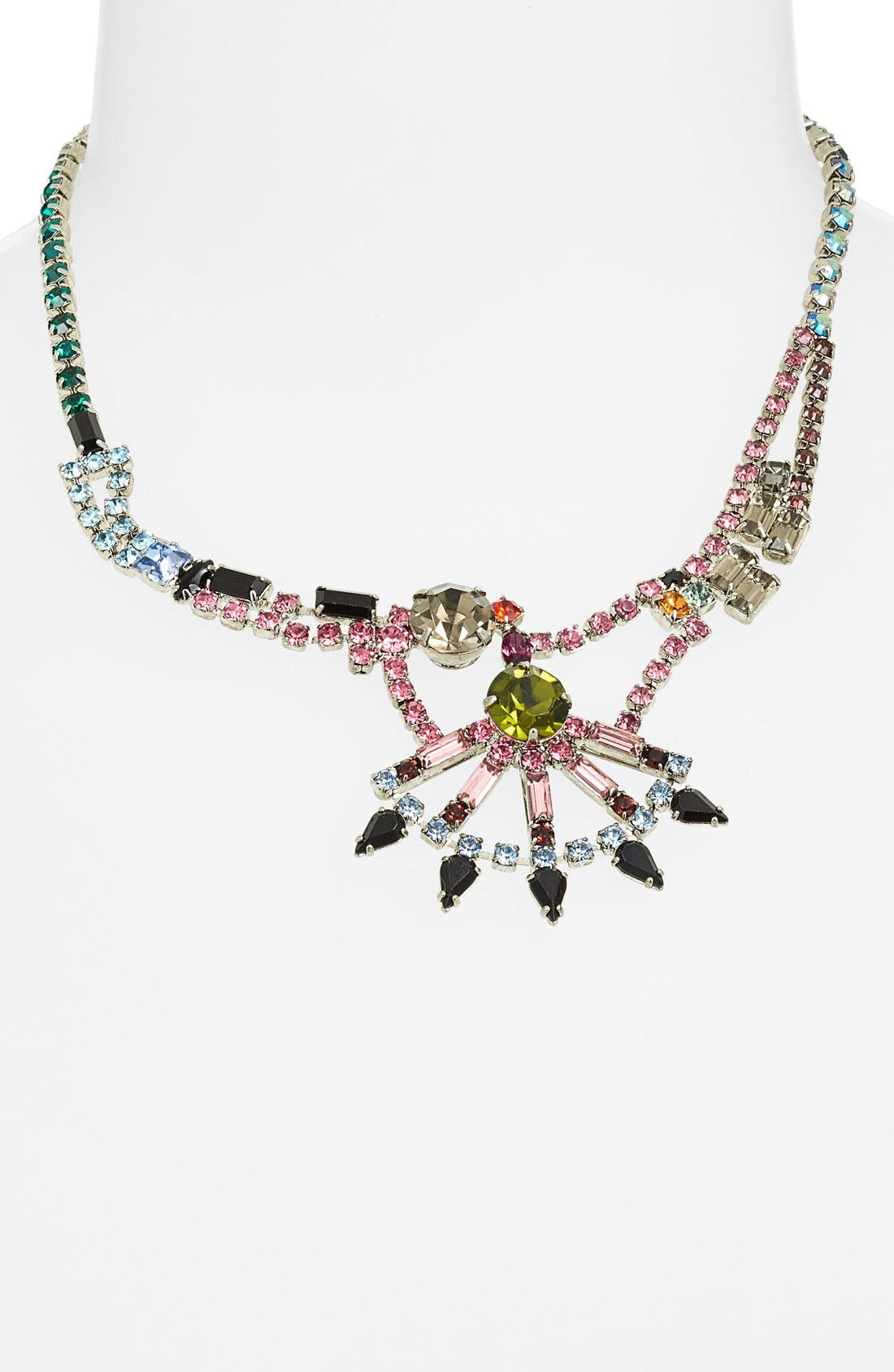 Alternate Image 1 Selected - Tom Binns 'Faux Real' Crystal Collar Necklace
