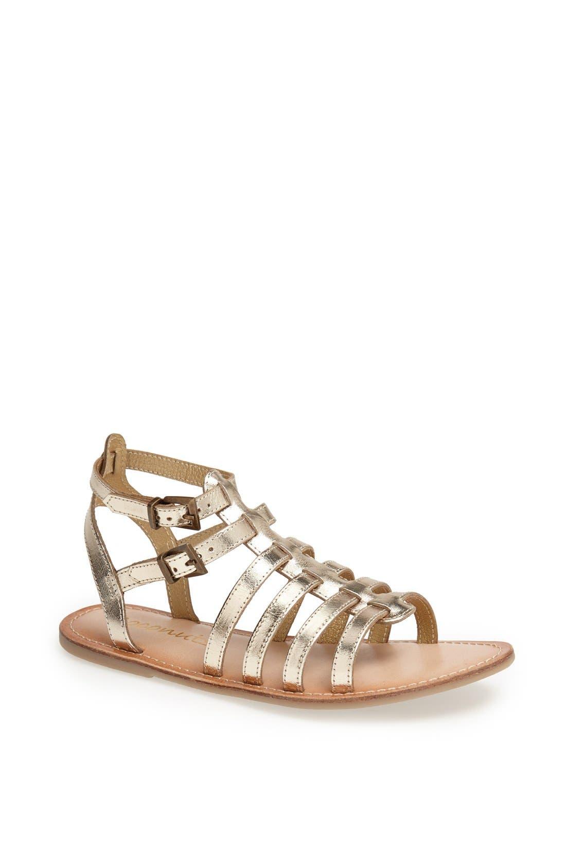 Alternate Image 1 Selected - Matisse 'Storybook' Flat Leather Sandal
