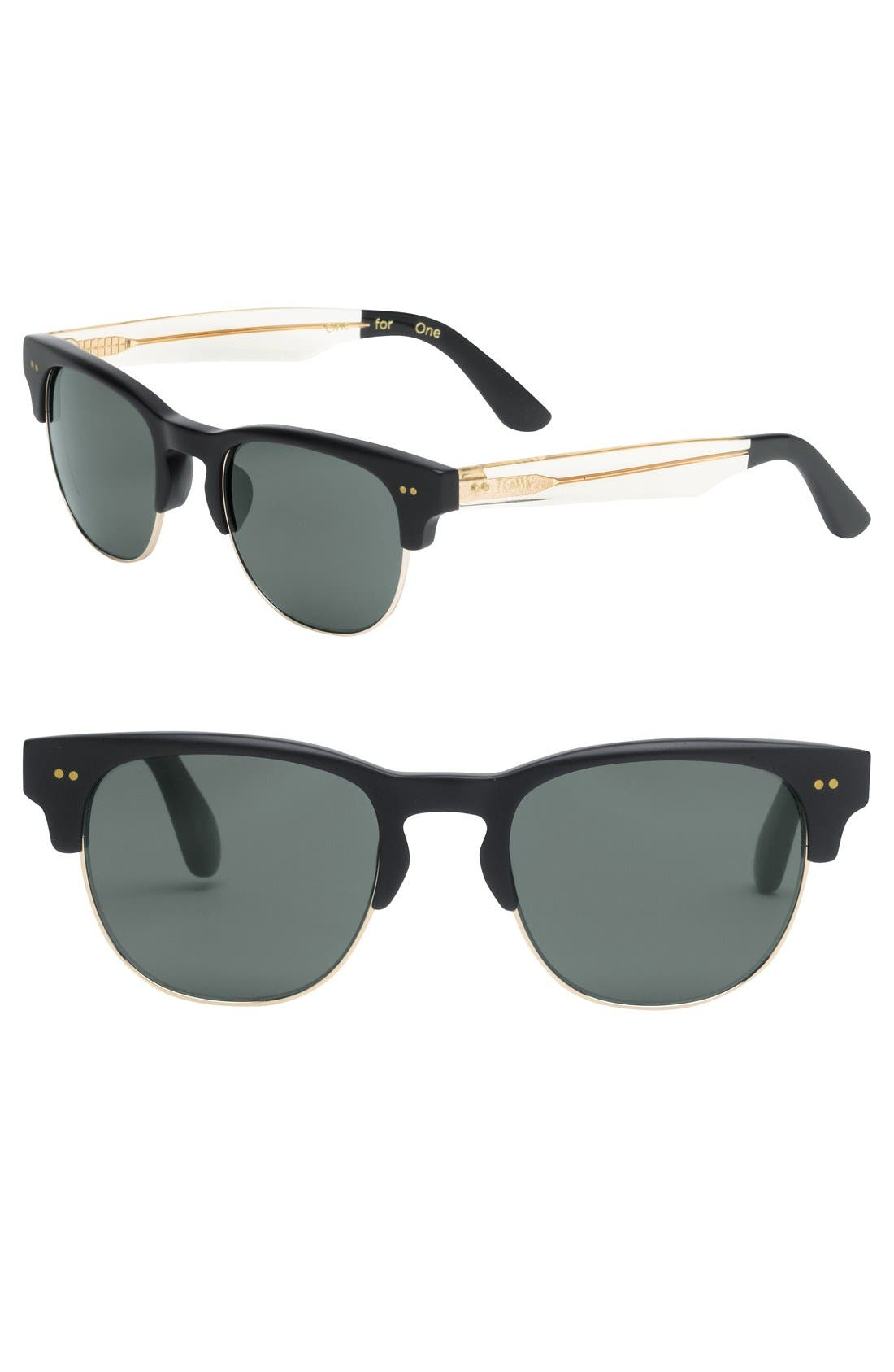 Main Image - TOMS 'Modern' Retro 50mm Sunglasses