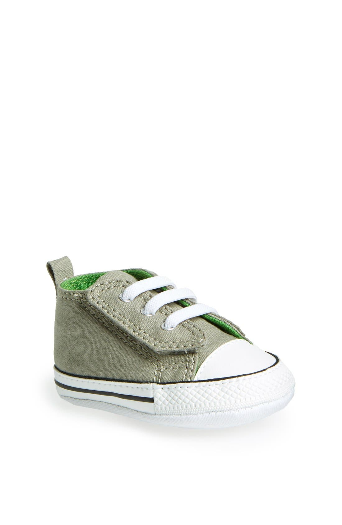 Chuck Taylor<sup>®</sup> Low Top Sneaker,                             Main thumbnail 1, color,                             Old Silver