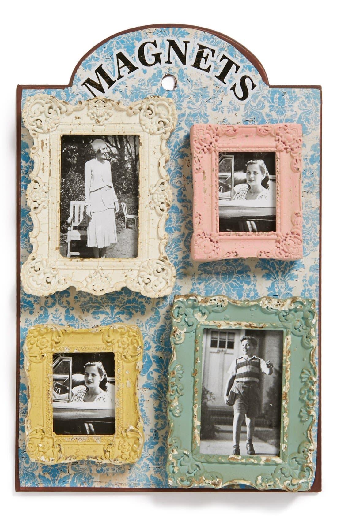 Alternate Image 1 Selected - VIP International Square Frame Magnets (Set of 4)