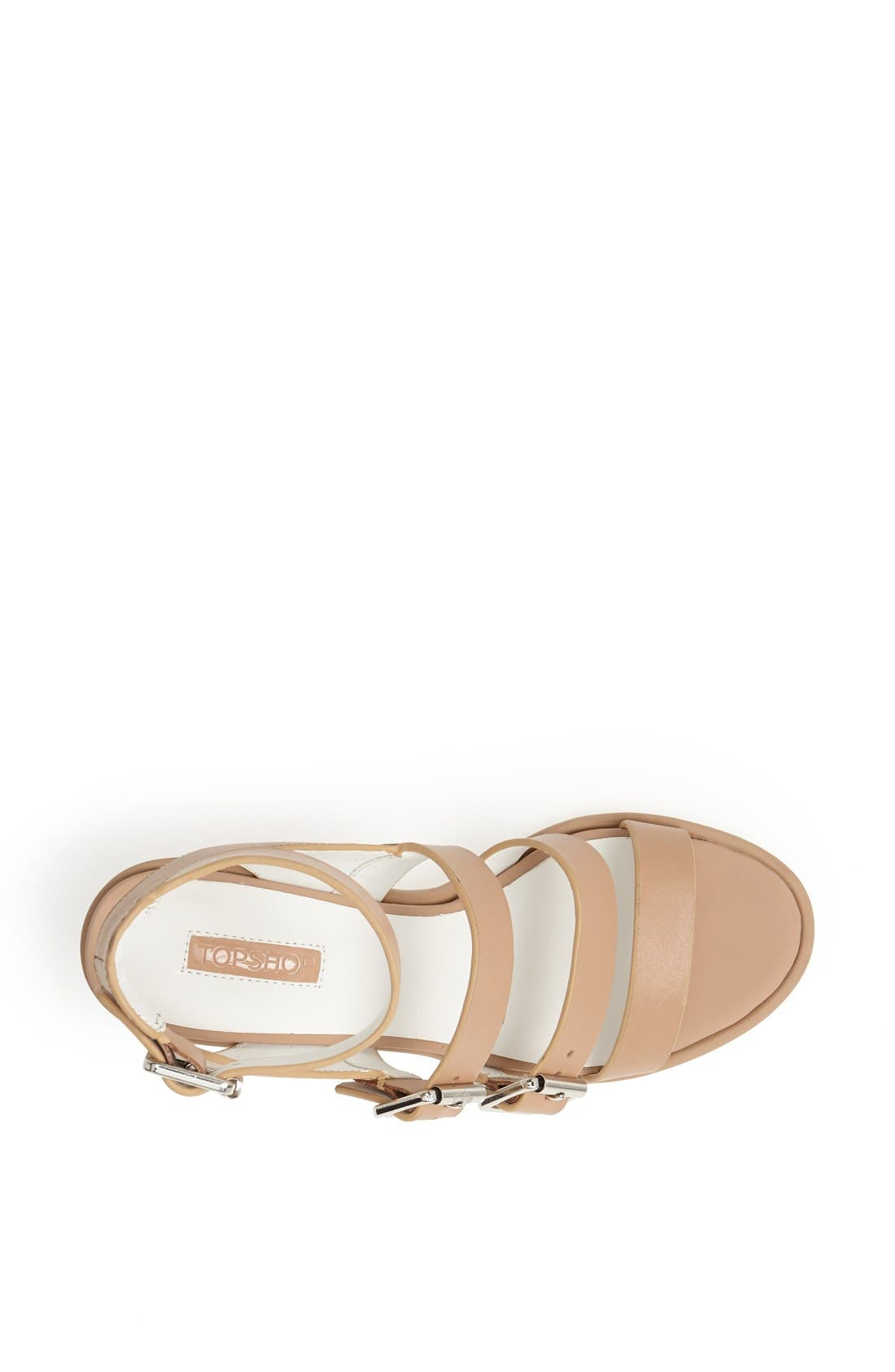 Alternate Image 3  - Topshop 'Nowhere' Mid Heel Sandal