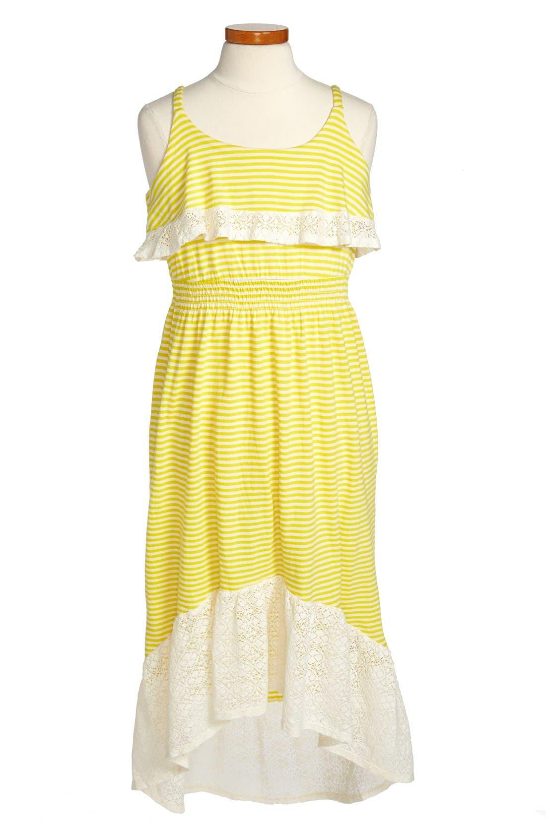 Alternate Image 1 Selected - Roxy 'Kittridge' Knit Dress (Big Girls)