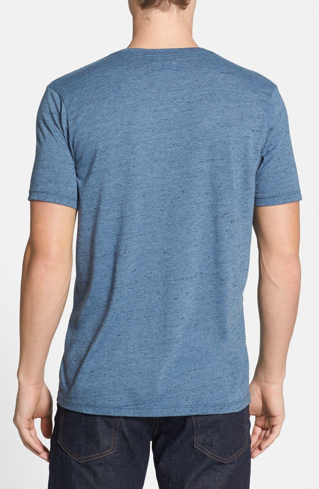 Alternate Image 2  - AG Triblend V-Neck T-Shirt