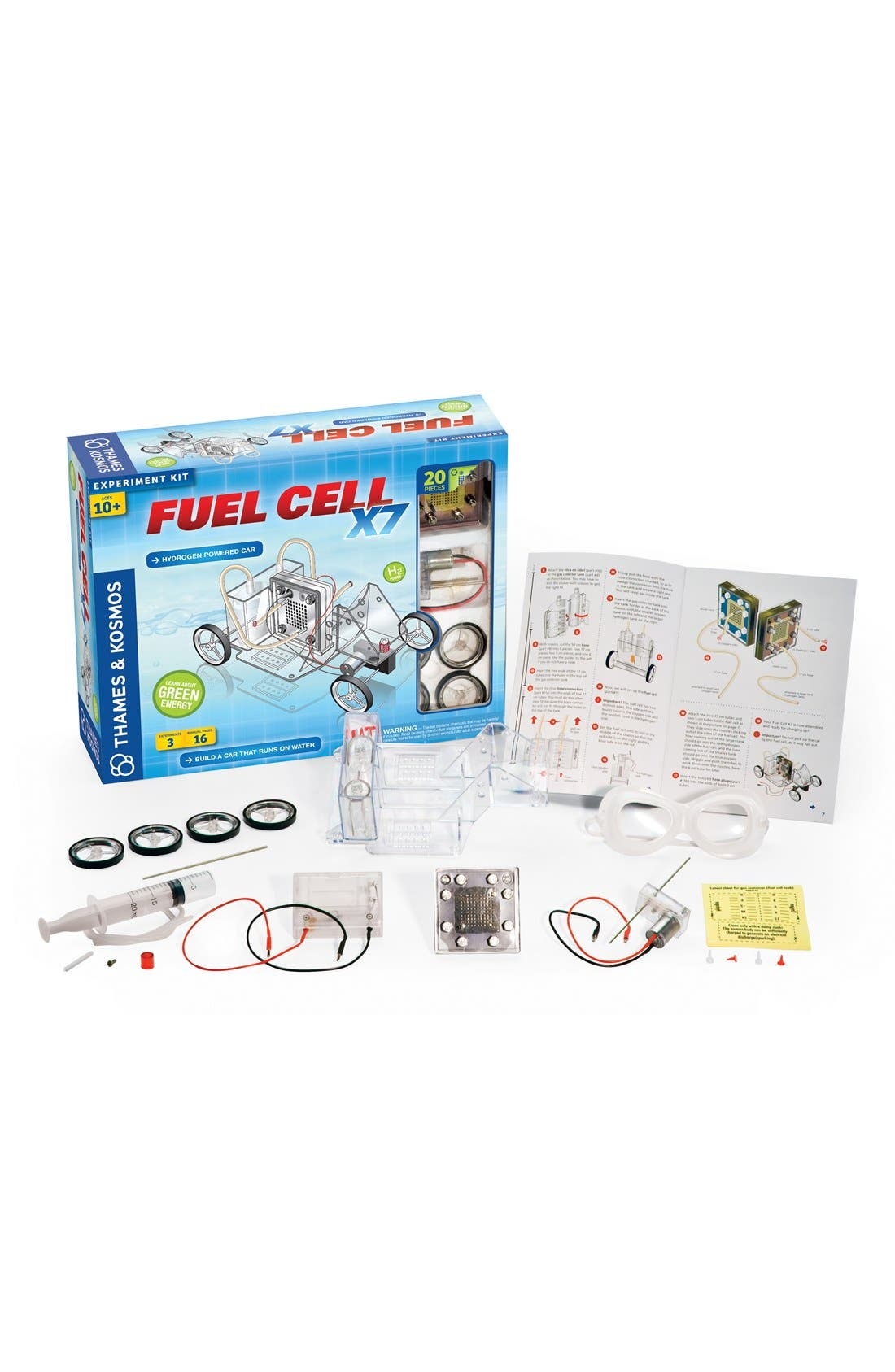 'Fuel Cell X7' Experiment Kit,                         Main,                         color, No Color