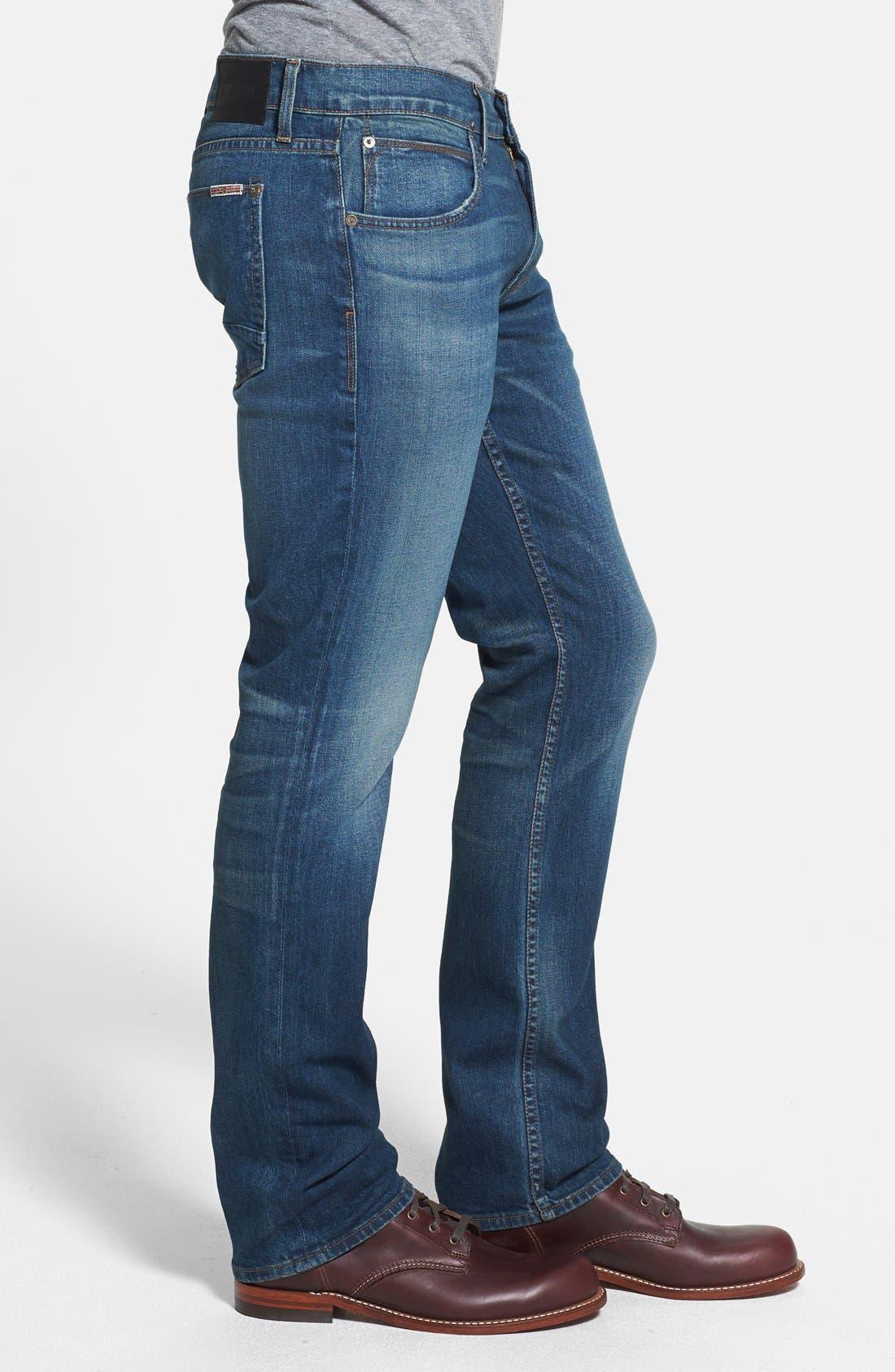 Alternate Image 3  - Hudson Jeans 'Byron' Straight Leg Jeans (Boneyard)