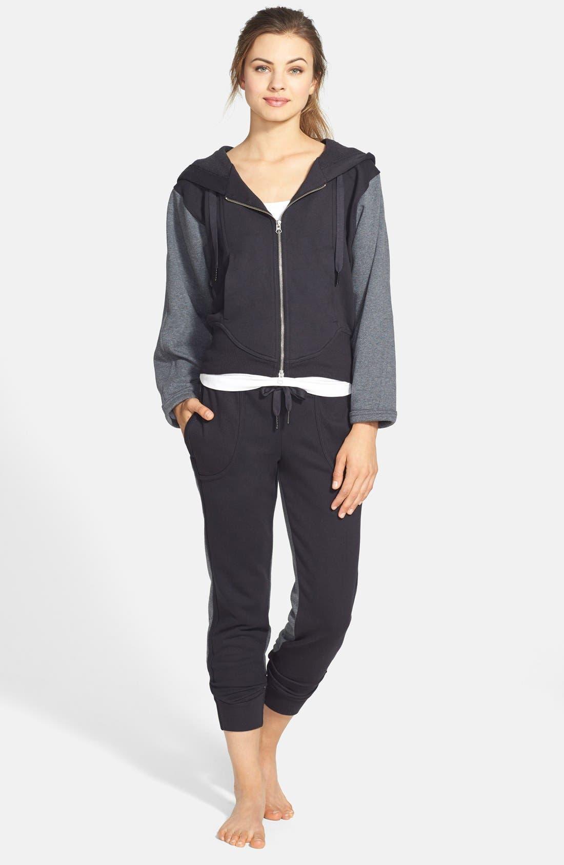 Alternate Image 3  - adidas by Stella McCartney 'Essentials' Colorblock Sweatpants