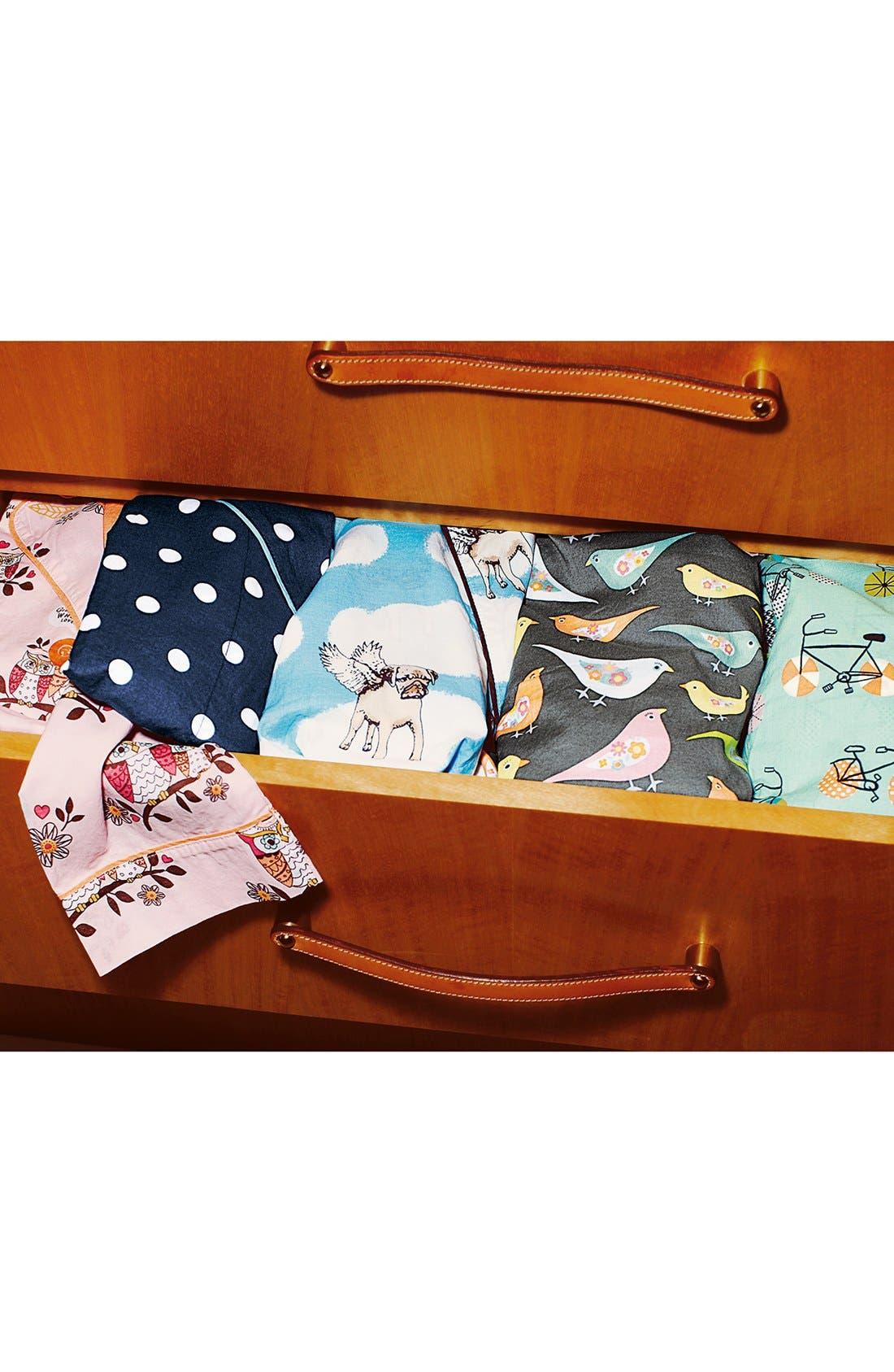Alternate Image 5  - PJ Salvage 'Playful Prints' Cotton Voile Pajamas