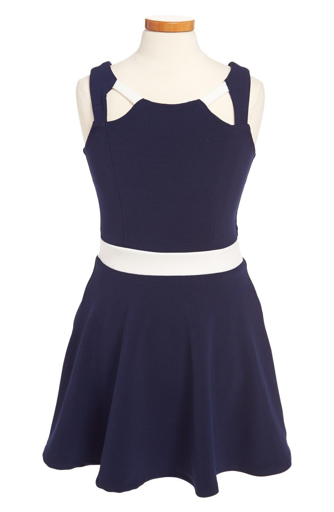 Alternate Image 1 Selected - Sally Miller 'The Annapolis' Dress (Big Girls)