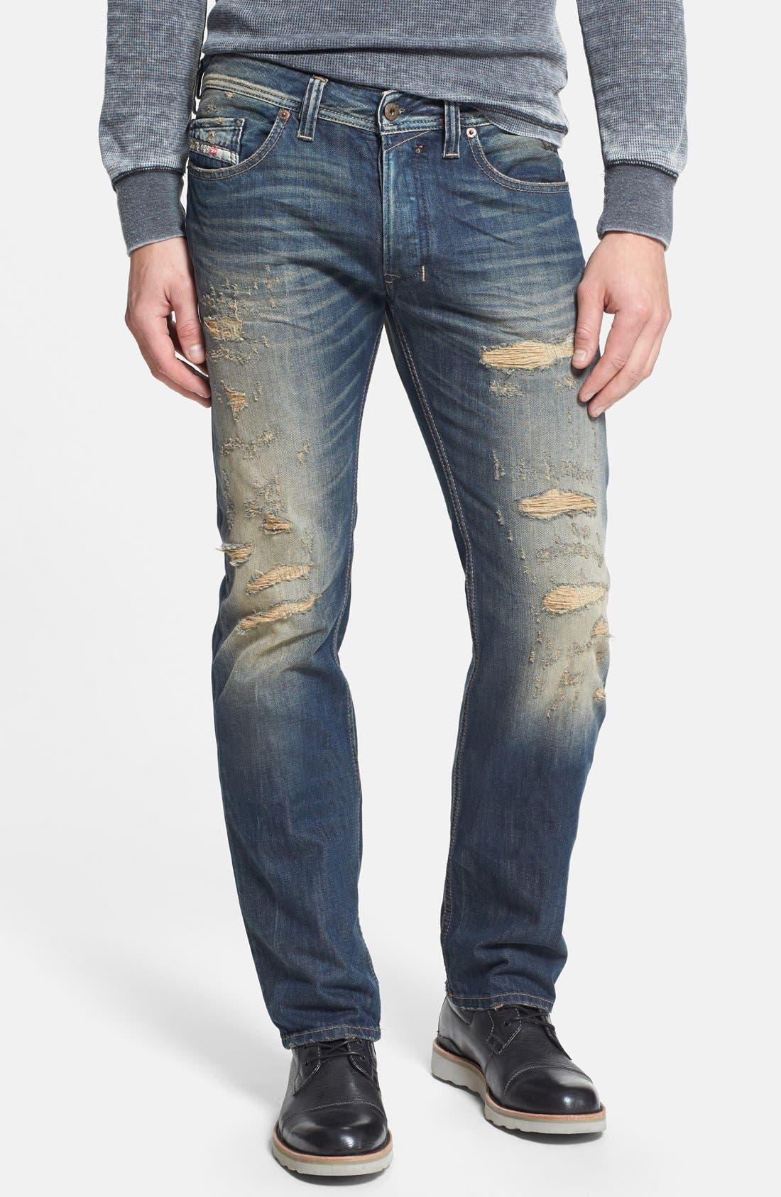 Alternate Image 1 Selected - DIESEL® 'Safado' Slim Fit Jeans (0608C)