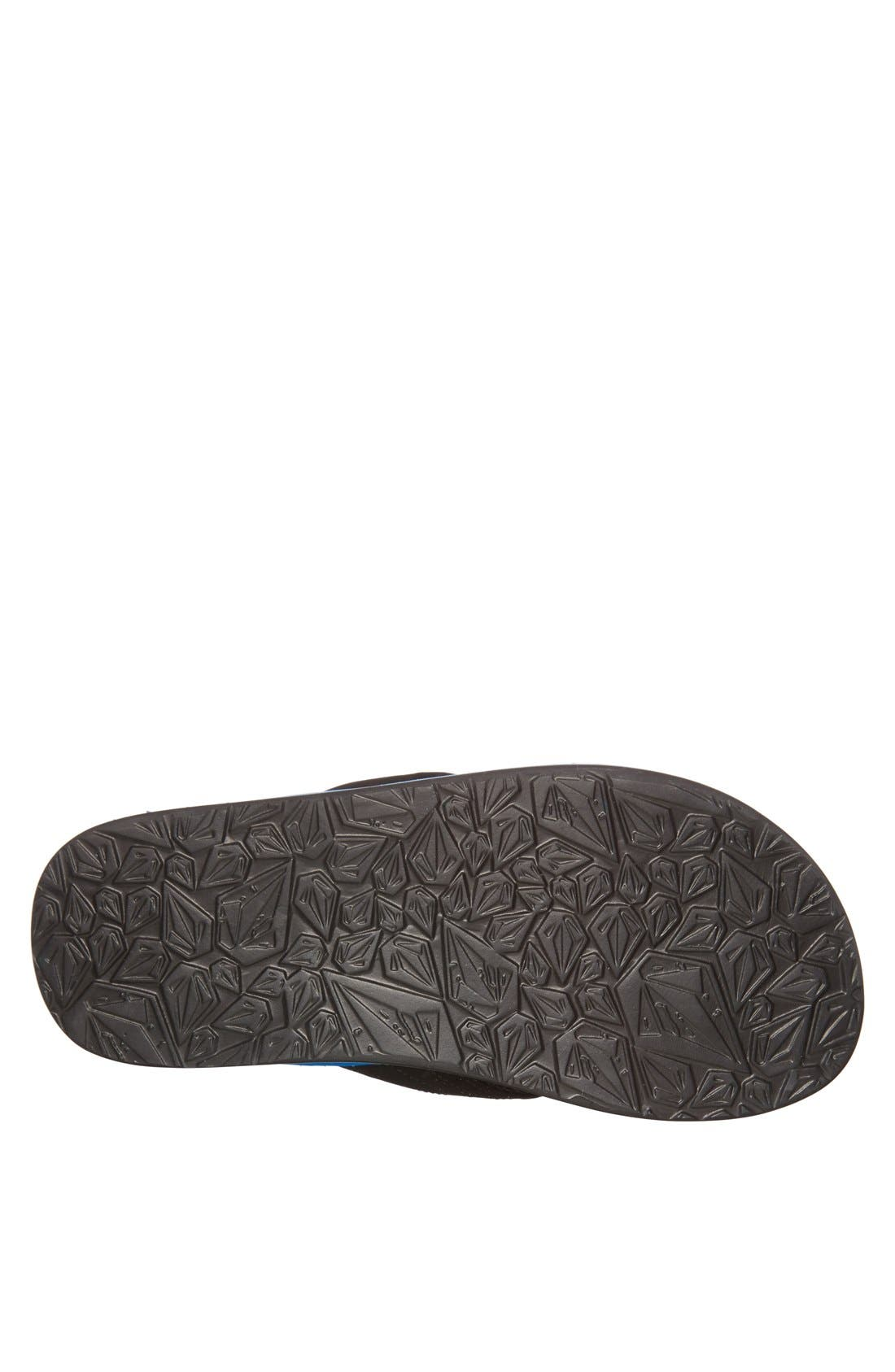Alternate Image 4  - Volcom 'Fraction' Flip Flop (Men)