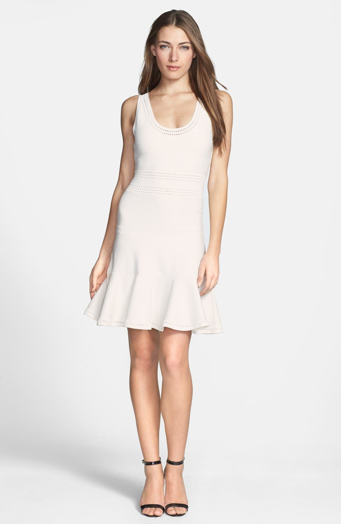 Alternate Image 1 Selected - Diane von Furstenberg 'Perry' Flared Knit Dress
