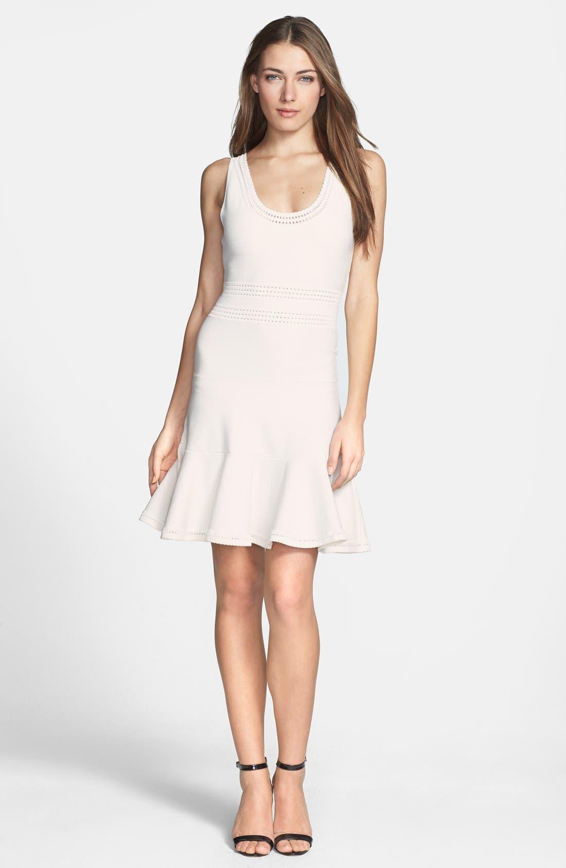 Main Image - Diane von Furstenberg 'Perry' Flared Knit Dress