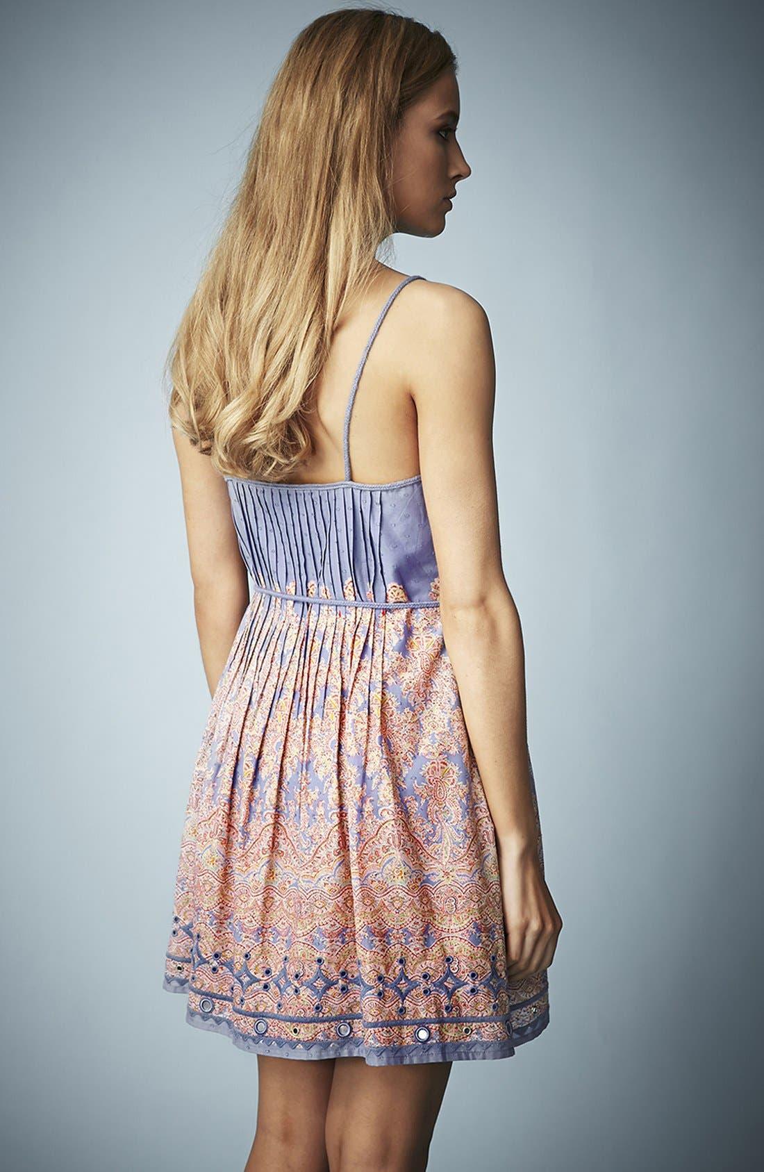 Alternate Image 2  - Kate Moss for Topshop Paisley Print Sundress
