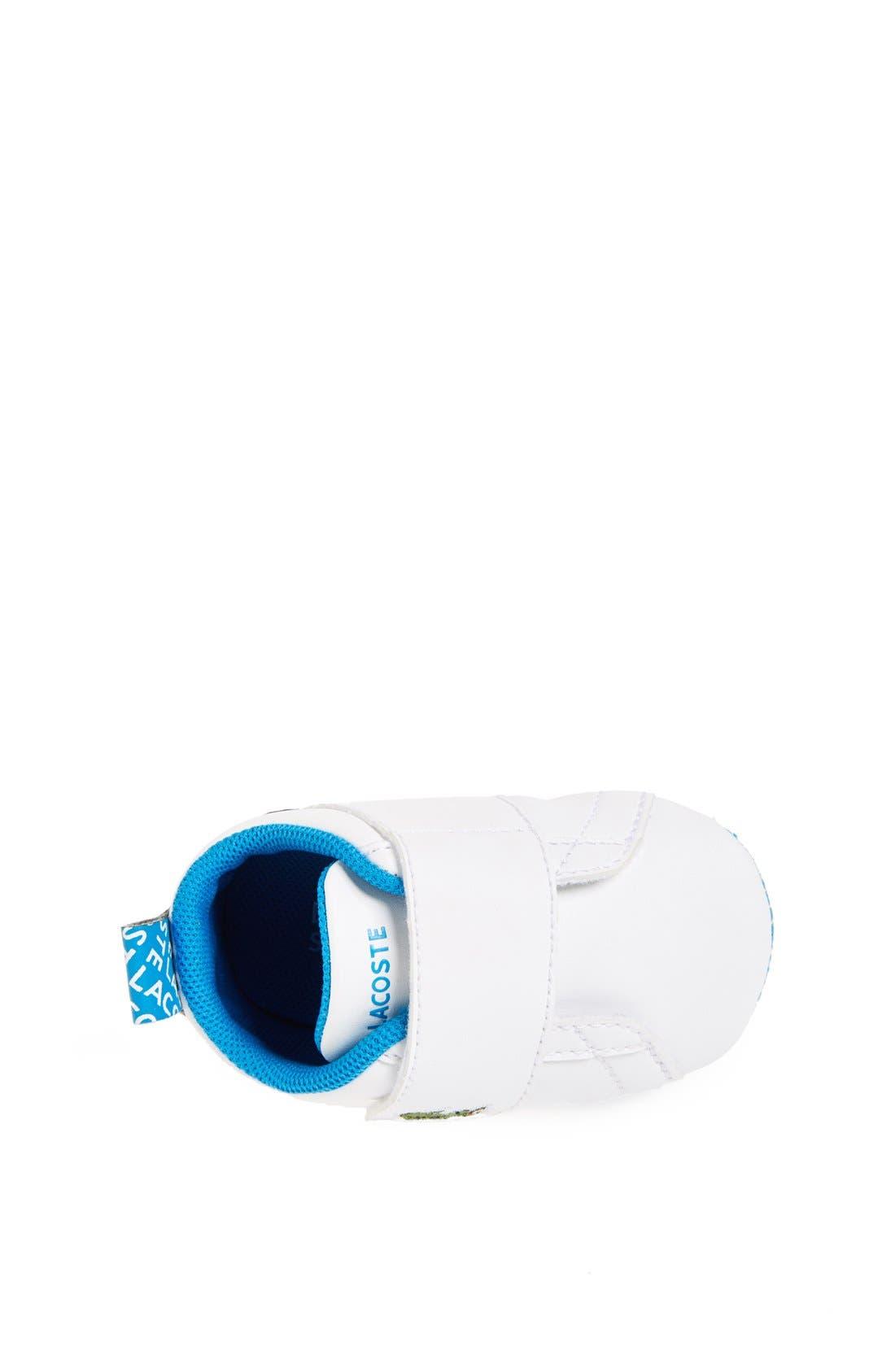 Alternate Image 3  - Lacoste 'Paris Babe' Crib Shoe (Baby)