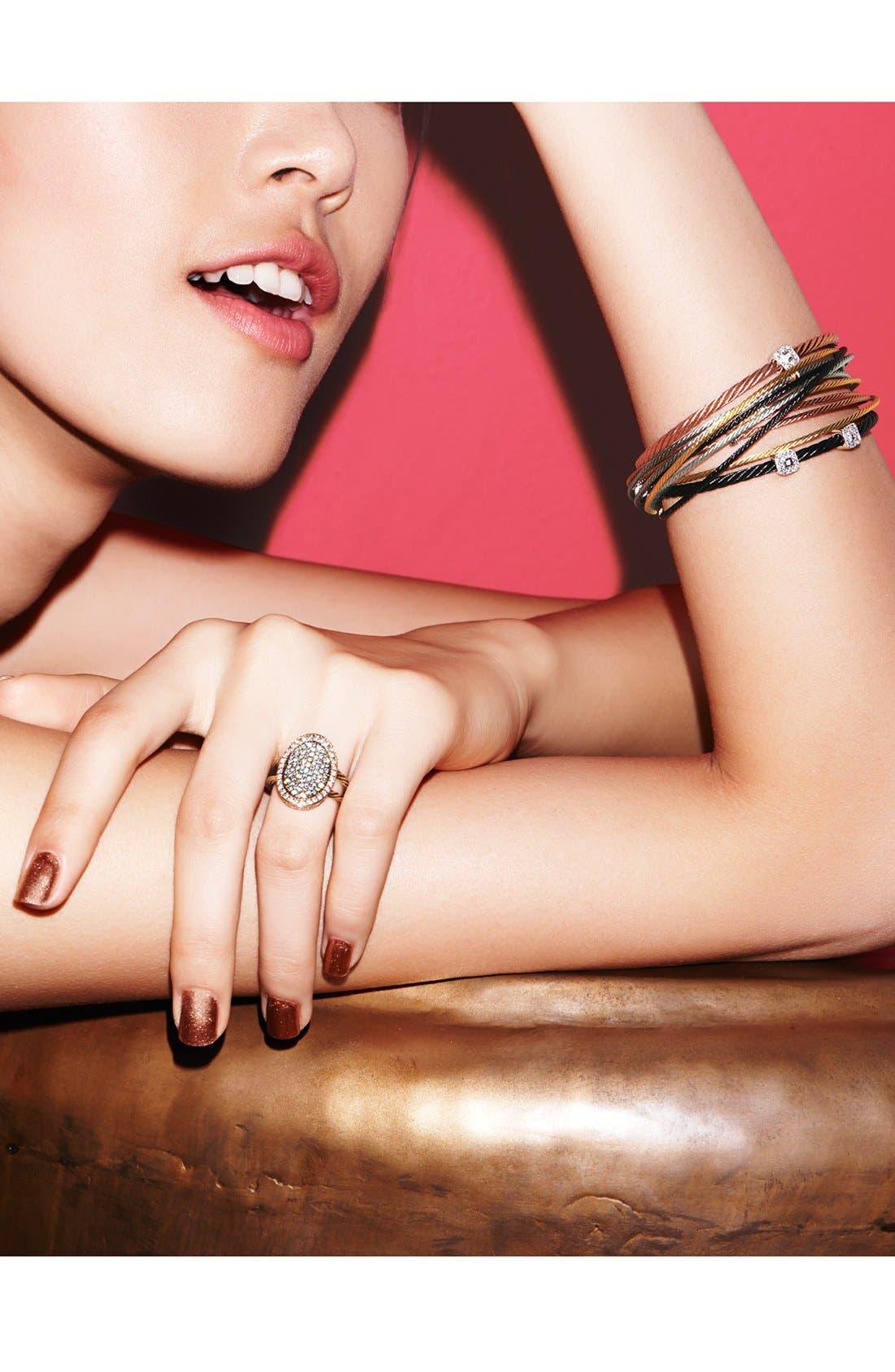 Alternate Image 2  - ALOR® Interlocked Cable Bracelet Set