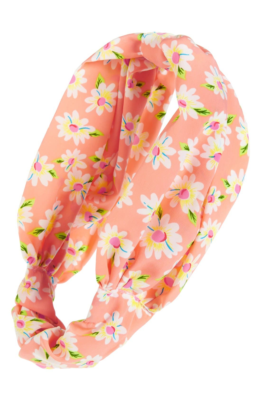 Main Image - Leith 'Ditsy Floral' Elastic Head Wrap