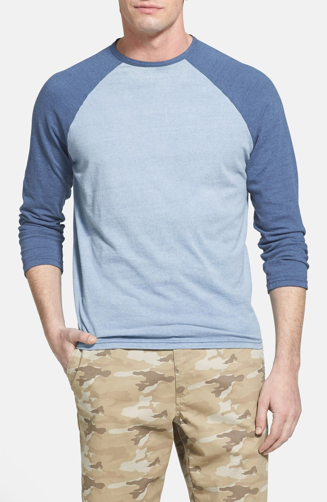Main Image - Faherty Raglan Sleeve Baseball T-Shirt