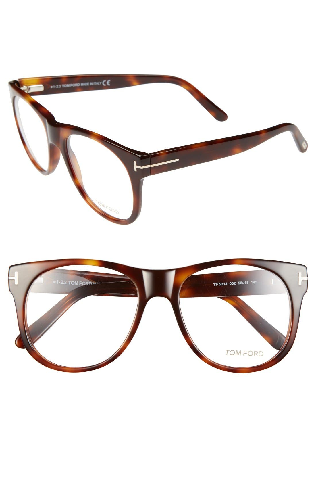 Main Image - Tom Ford 55mm Optical Glasses (Online Only)