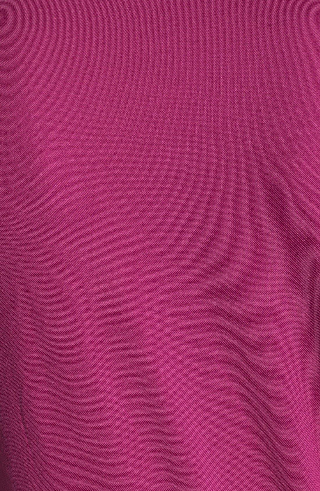 HUGO BOSS 'Firenze 43' Regular Fit Jersey Polo,                             Alternate thumbnail 3, color,                             Berry