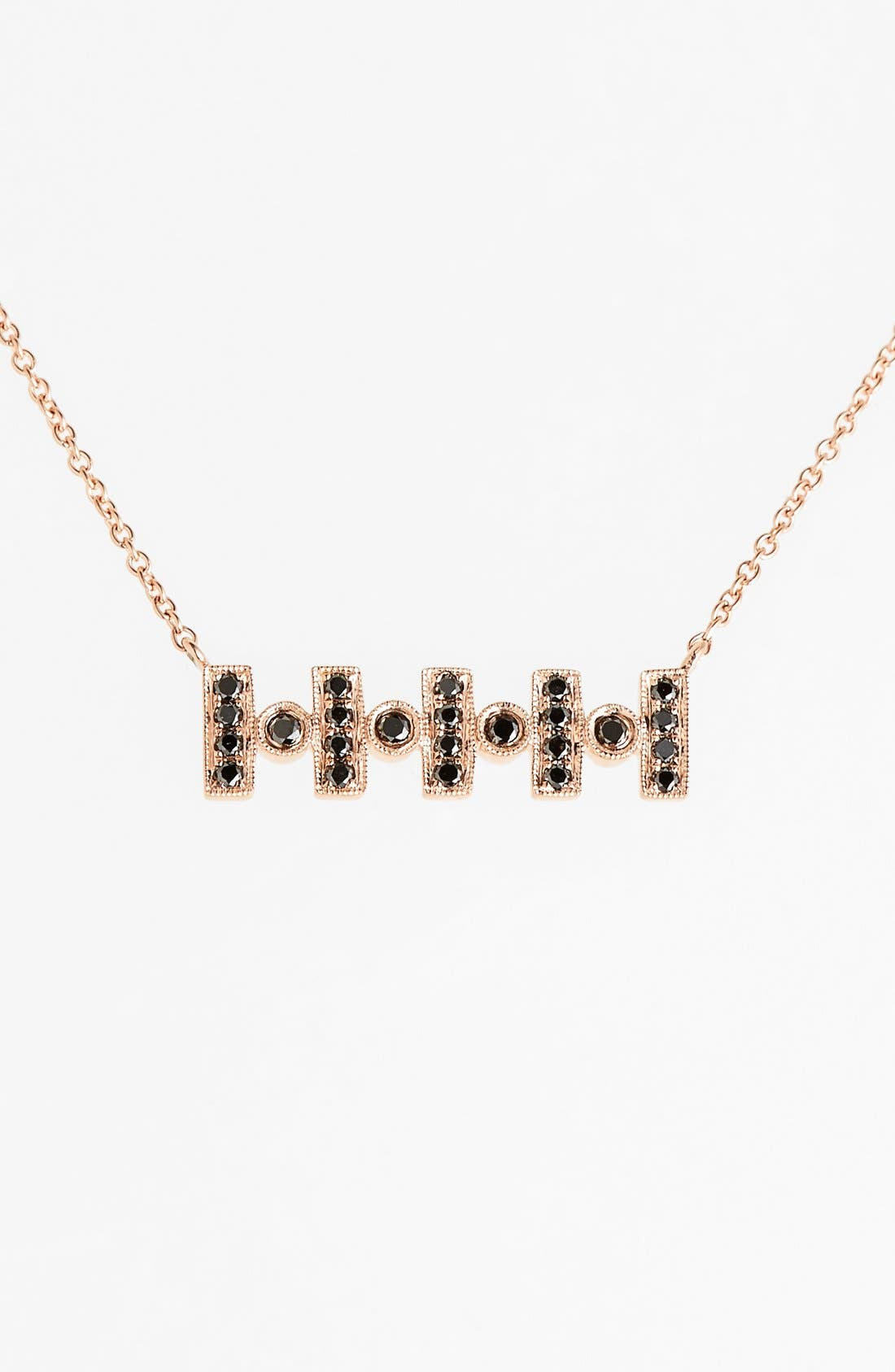 Main Image - Dana Rebecca Designs 'Reese Brooklyn' Diamond Pendant Necklace